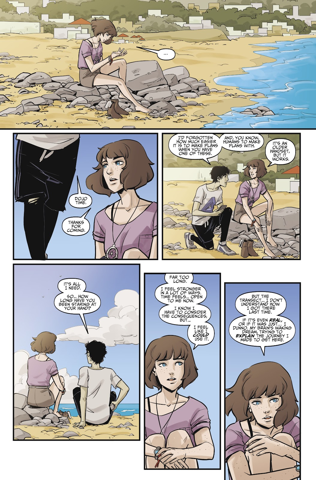 Read online Life is Strange comic -  Issue #10 - 12