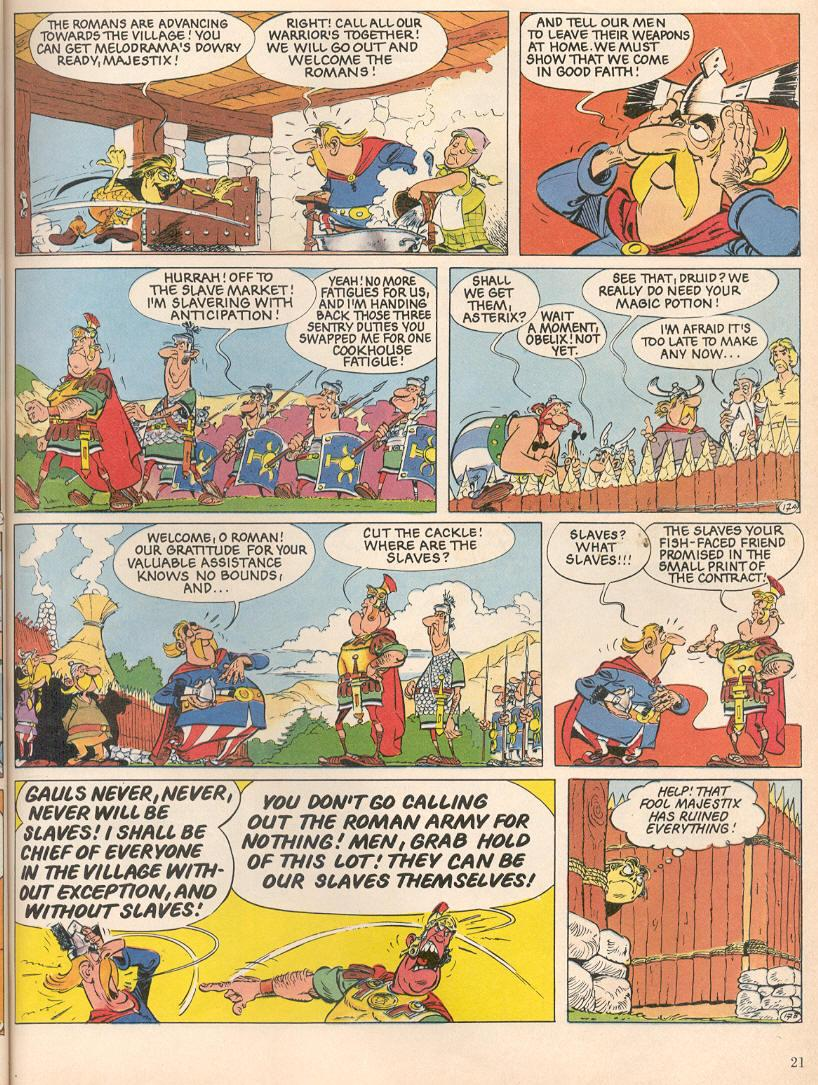 Read online Asterix comic -  Issue #25 - 18