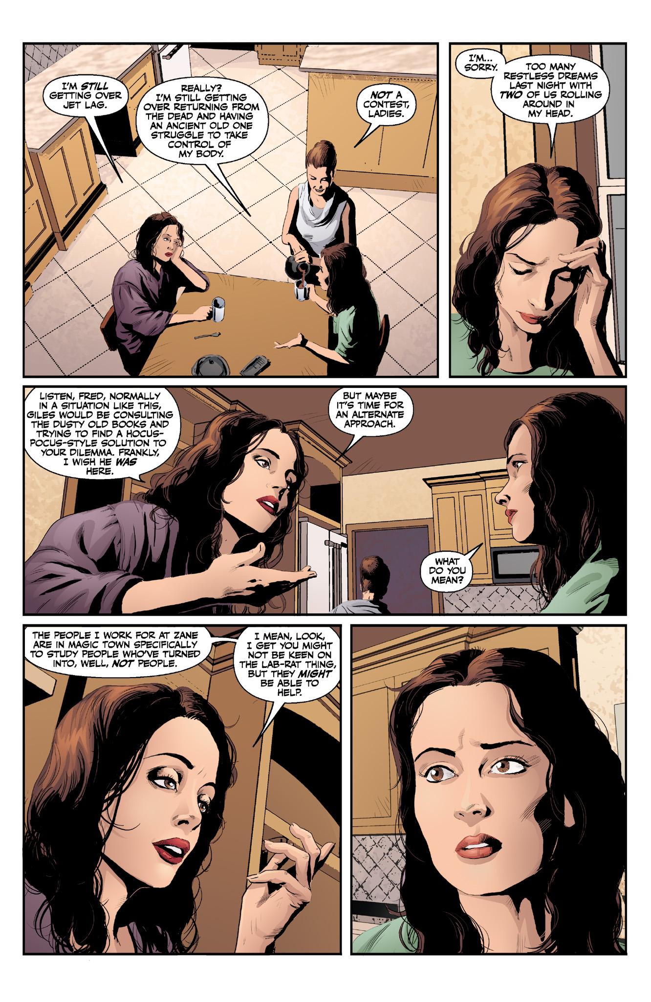 Read online Angel & Faith Season 10 comic -  Issue #13 - 7