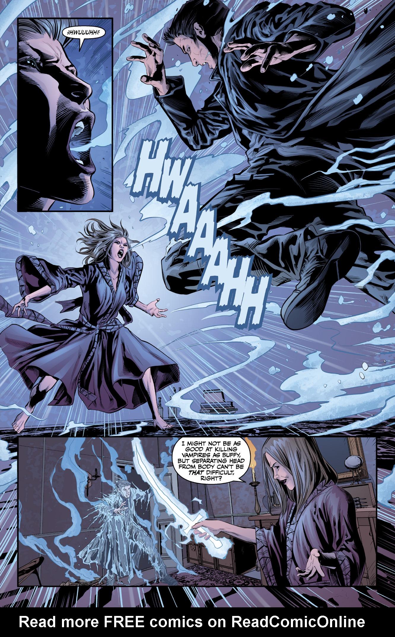 Read online Angel & Faith Season 10 comic -  Issue #9 - 5