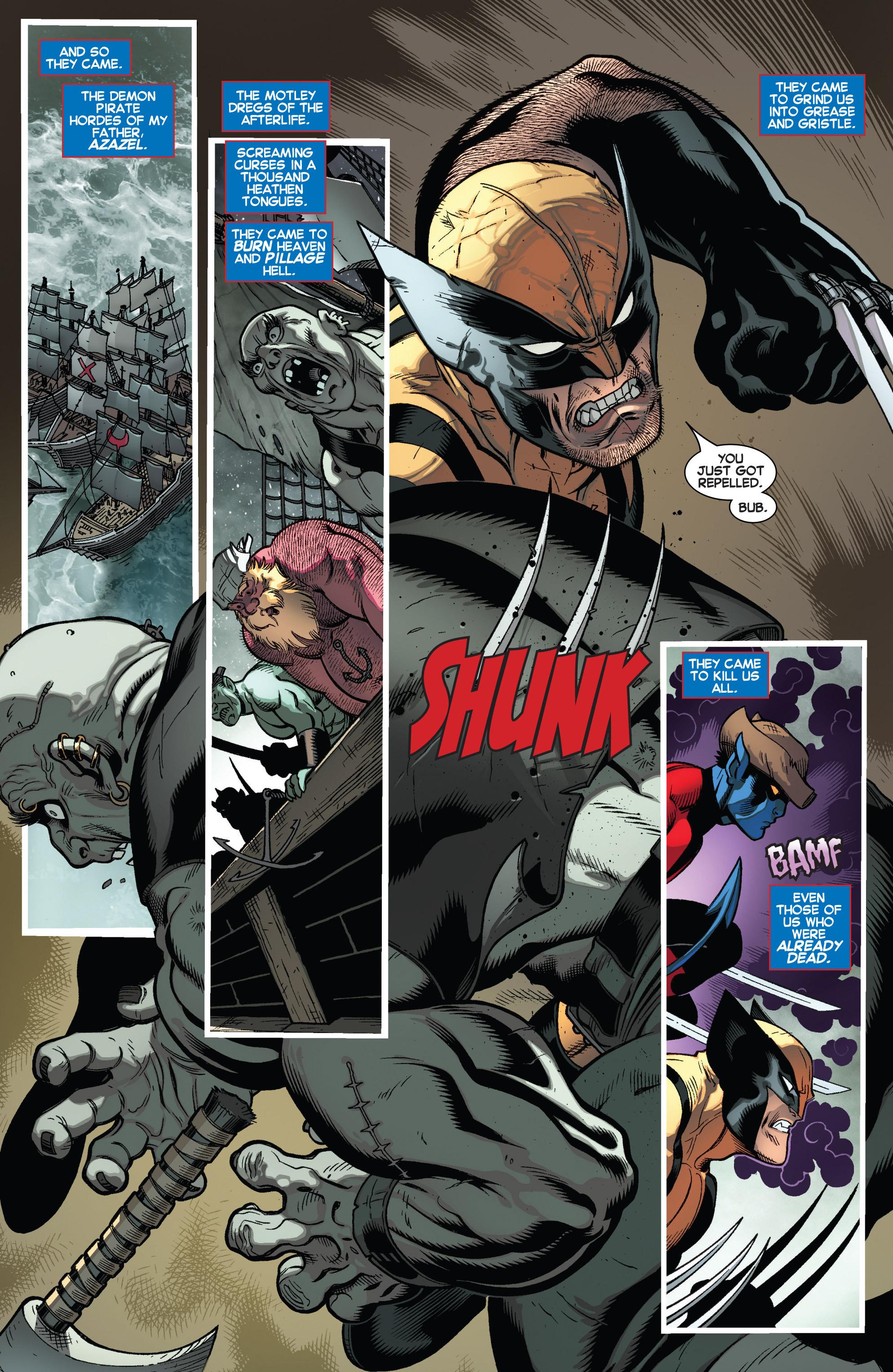 Read online Amazing X-Men (2014) comic -  Issue #5 - 6