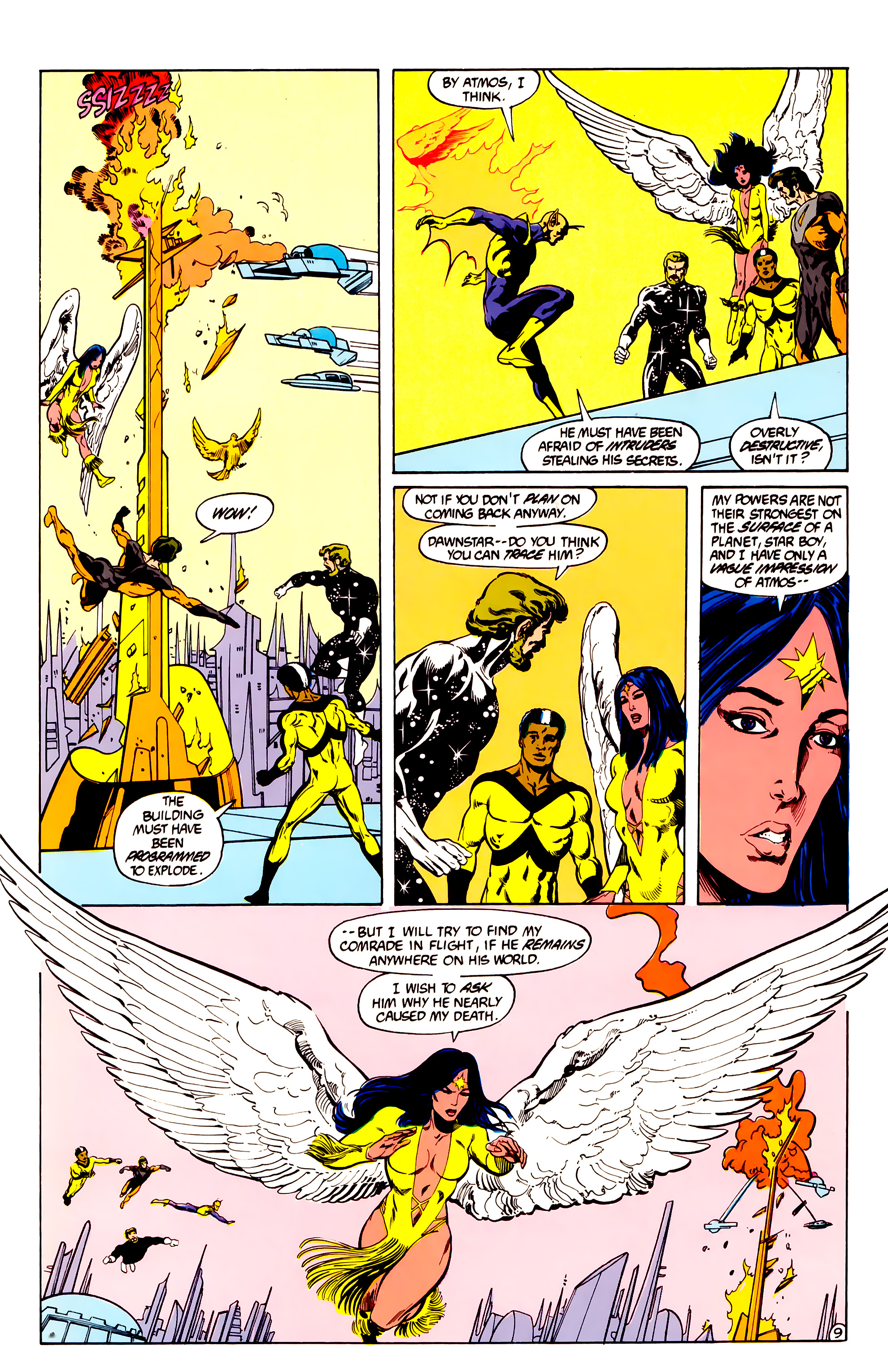 Legion of Super-Heroes (1984) 28 Page 10