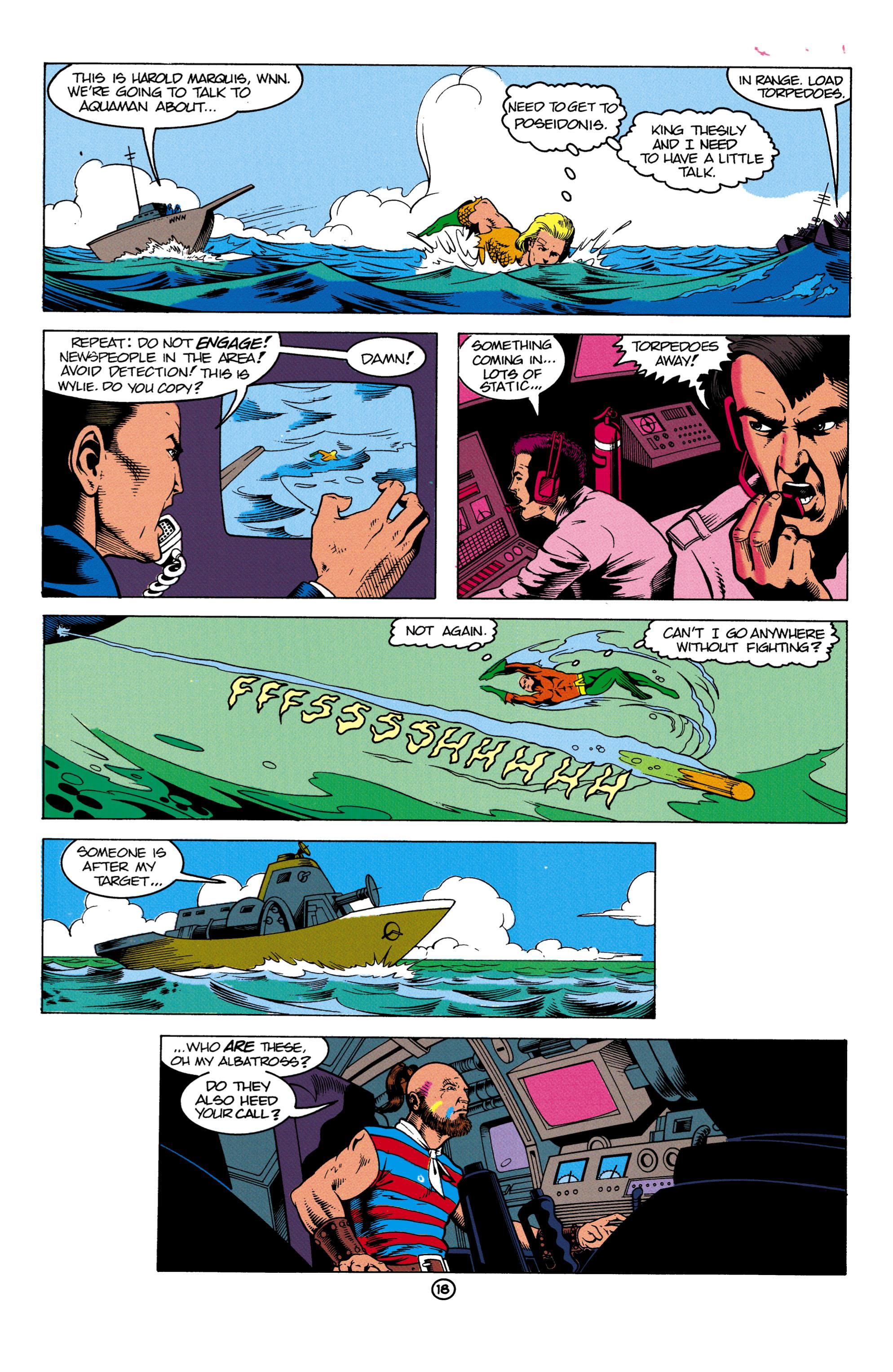 Read online Aquaman (1991) comic -  Issue #2 - 19