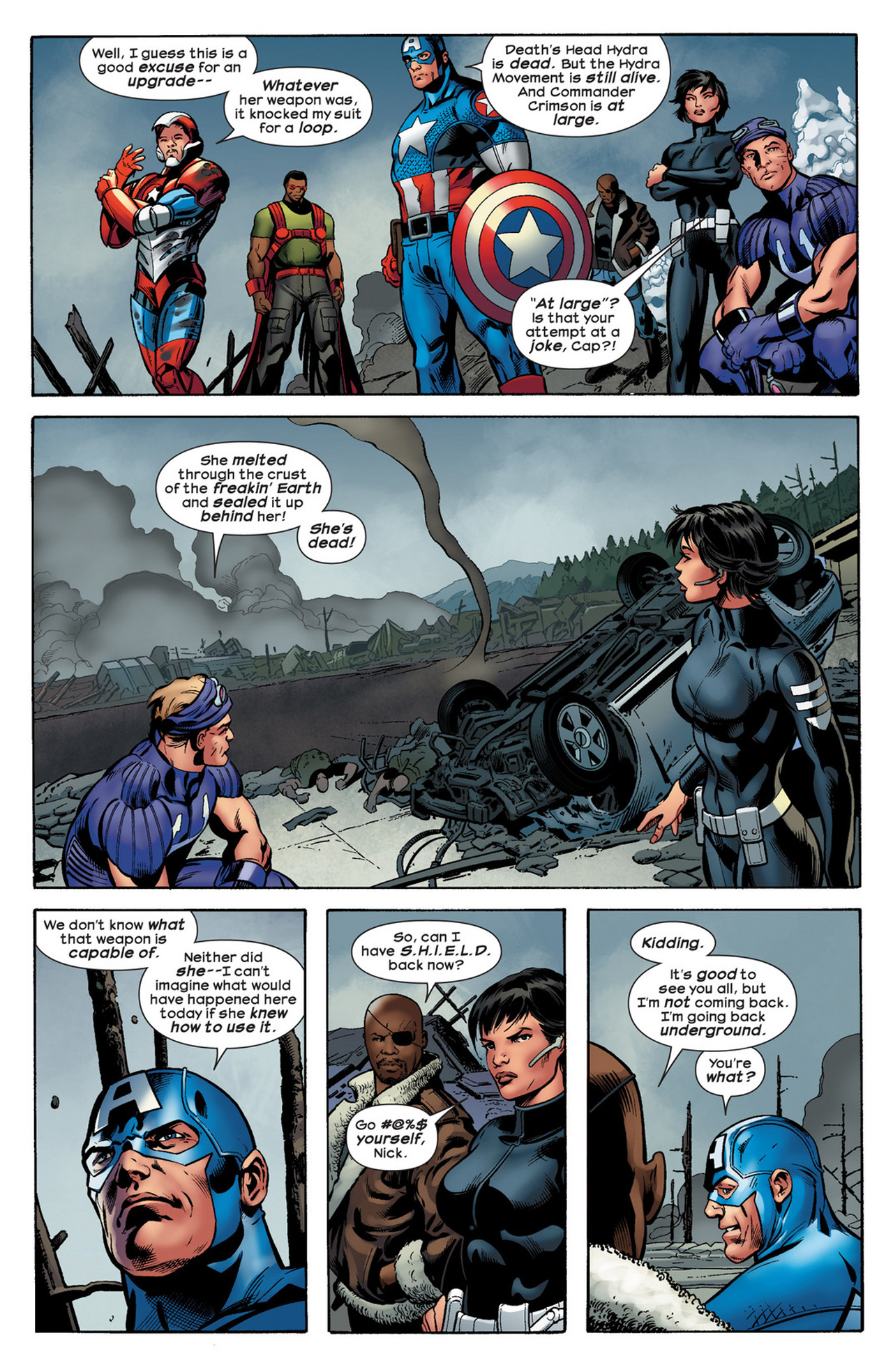 Read online Ultimate Comics Ultimates comic -  Issue #21 - 17