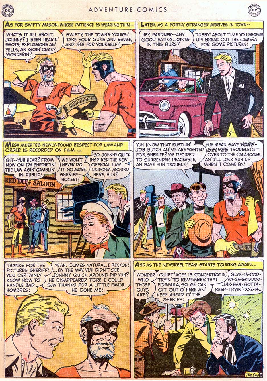 Read online Adventure Comics (1938) comic -  Issue #158 - 24