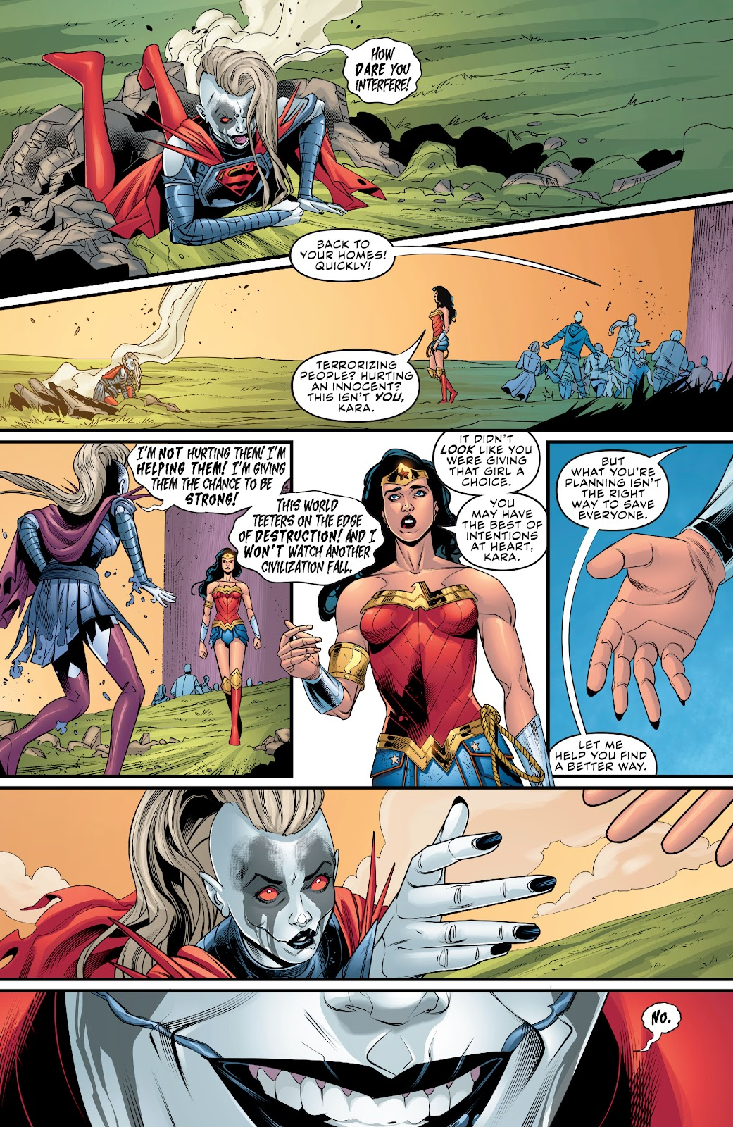 Read online Supergirl (2016) comic -  Issue #38 - 17