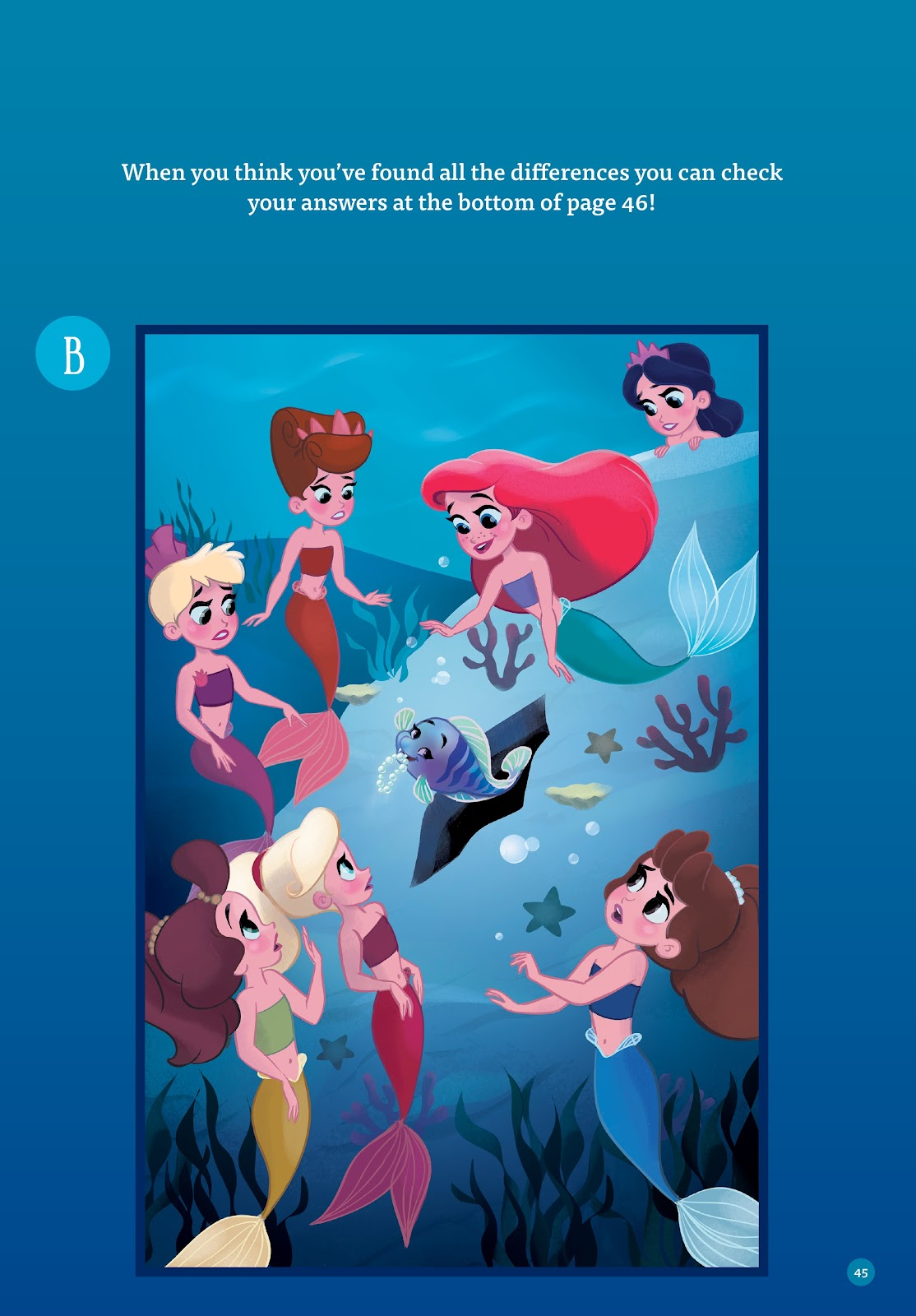 Read online Disney Princess: Ariel and the Sea Wolf comic -  Issue # Full - 42