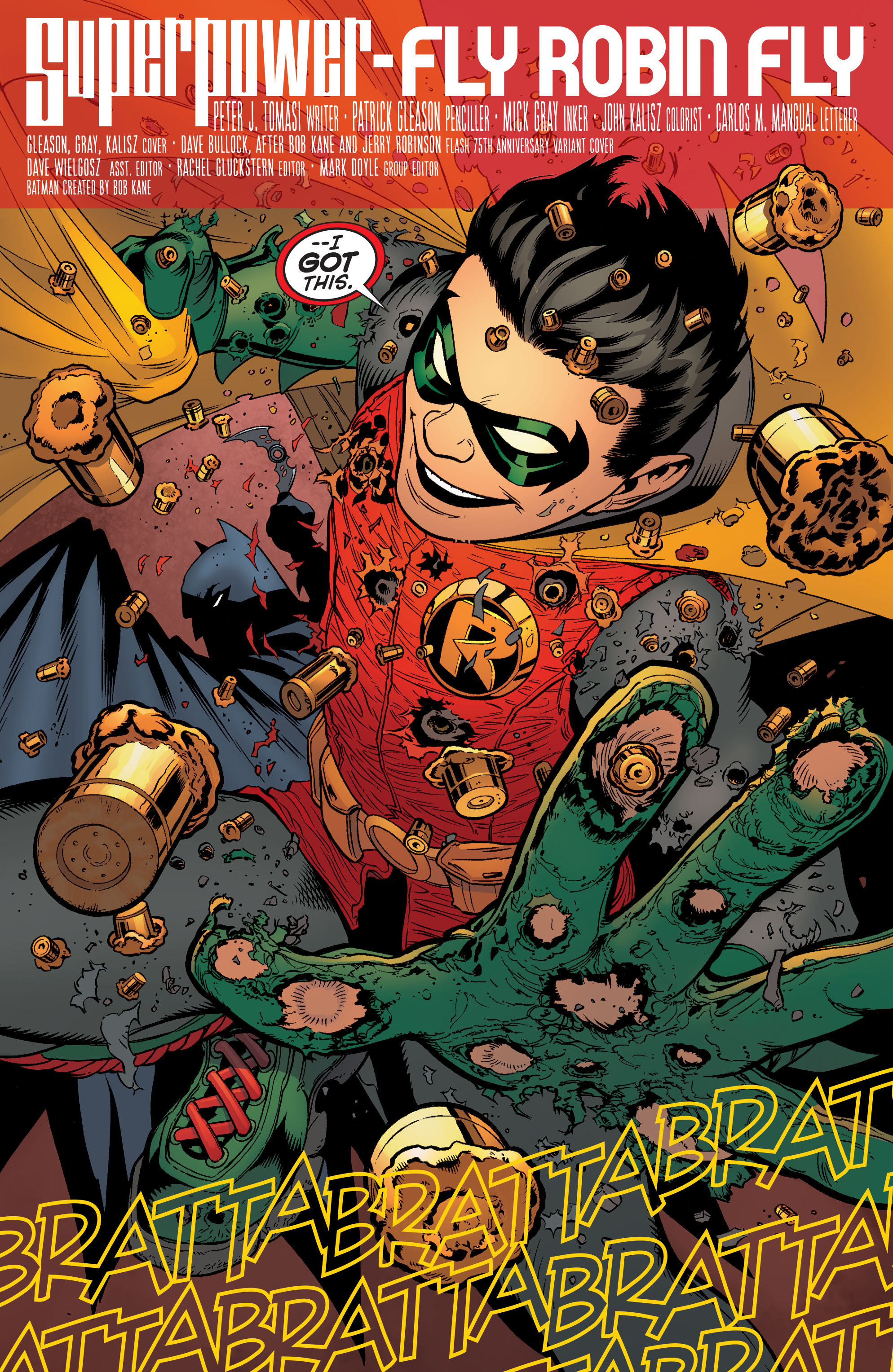 Read online Batman and Robin (2011) comic -  Issue #38 - 5