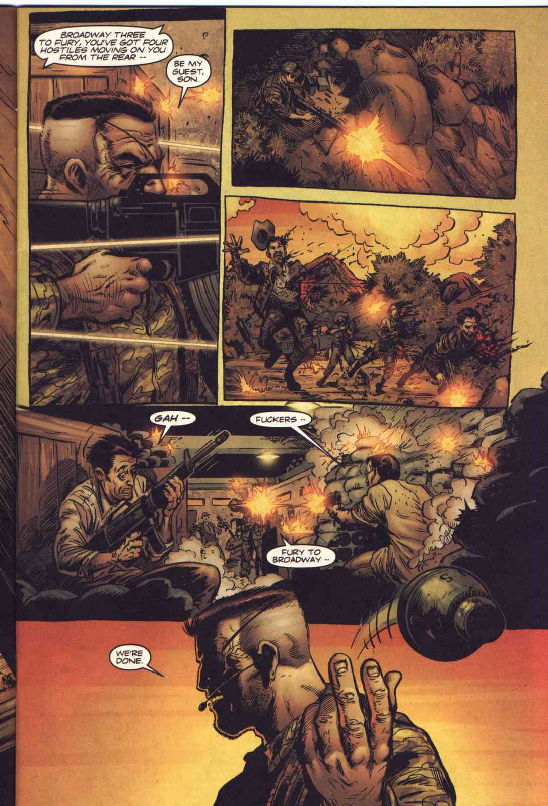 Read online Fury comic -  Issue #1 - 6