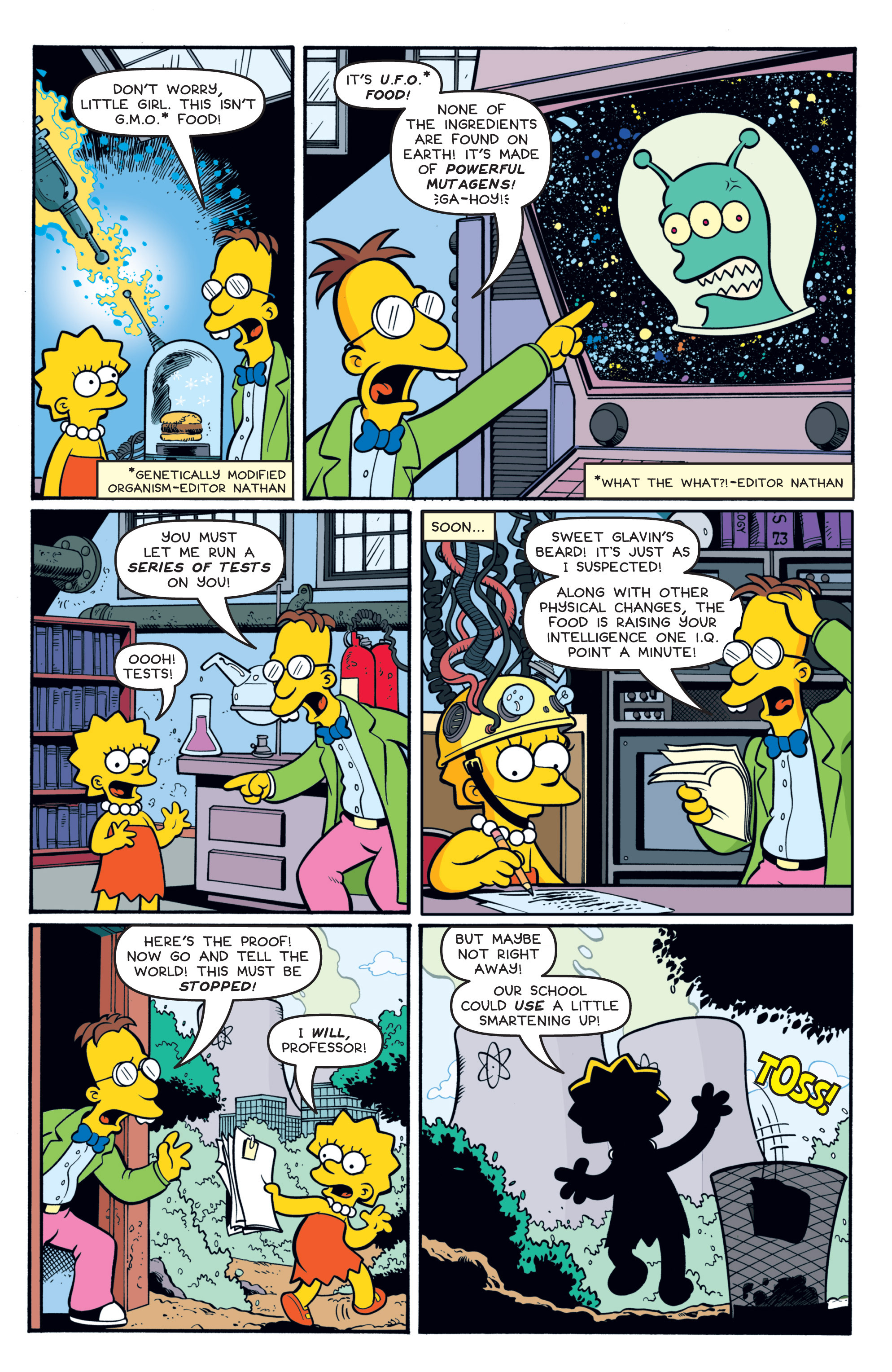 Read online Treehouse of Horror comic -  Issue #19 - 16
