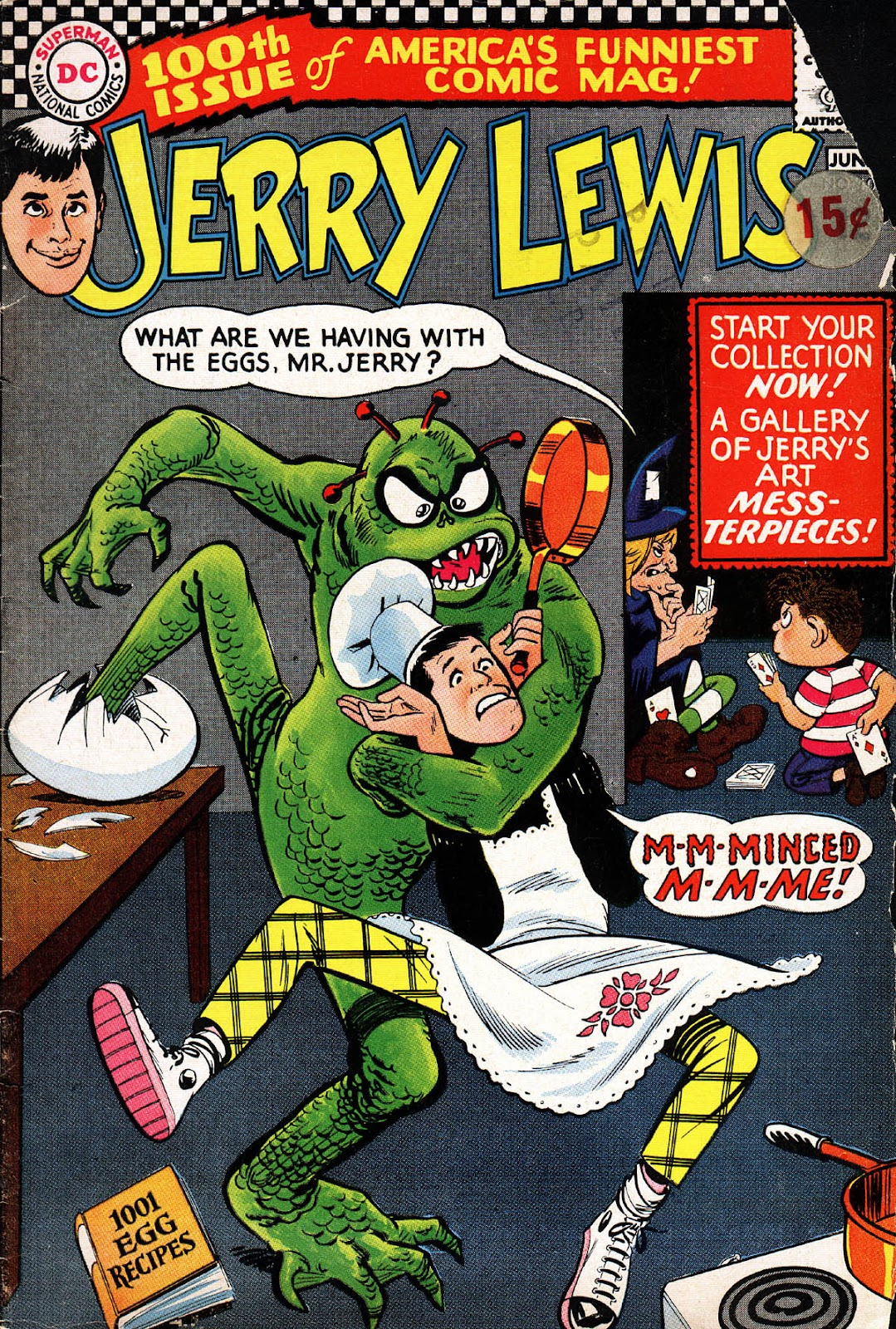 The Adventures of Jerry Lewis 100 Page 1