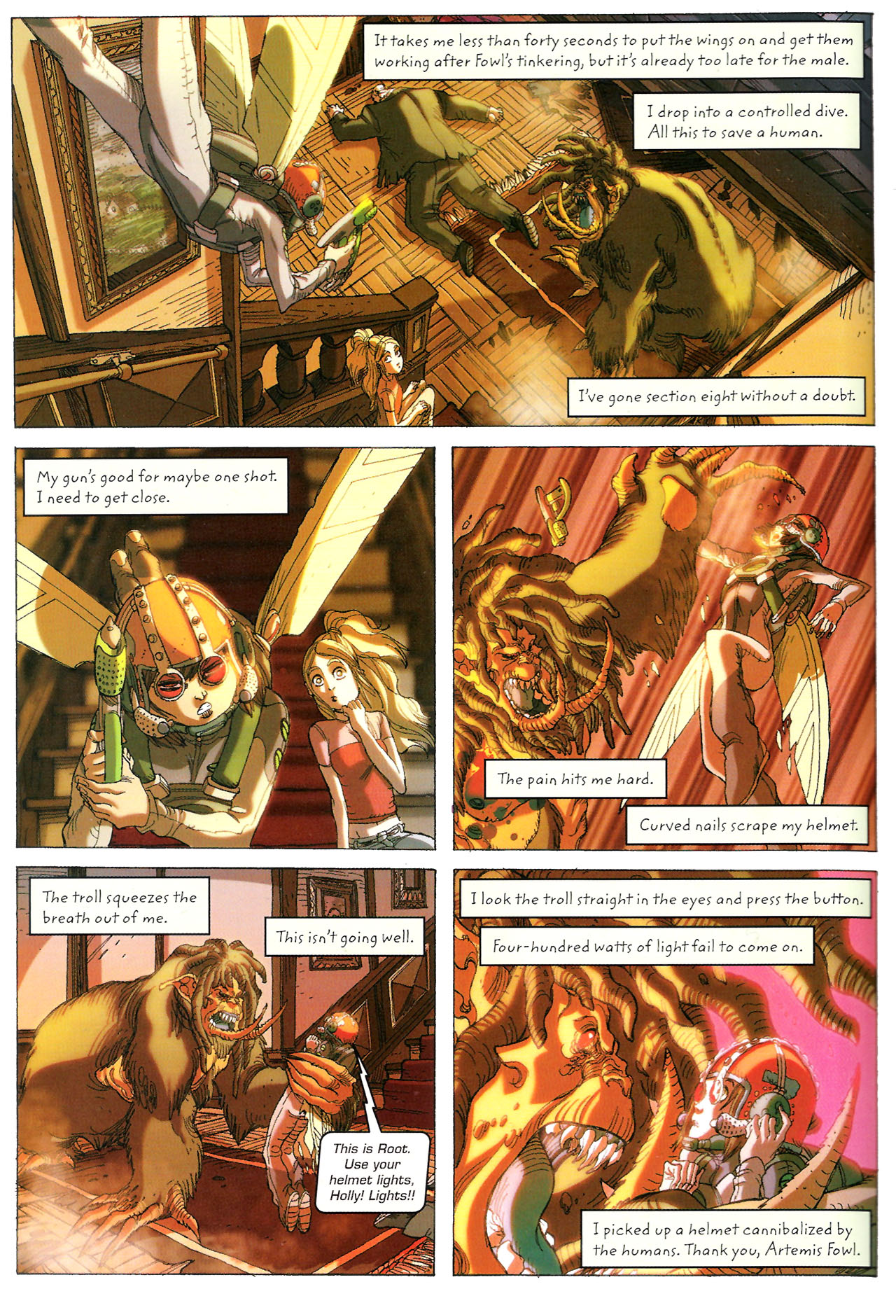 Read online Artemis Fowl: The Graphic Novel comic -  Issue #Artemis Fowl: The Graphic Novel Full - 93