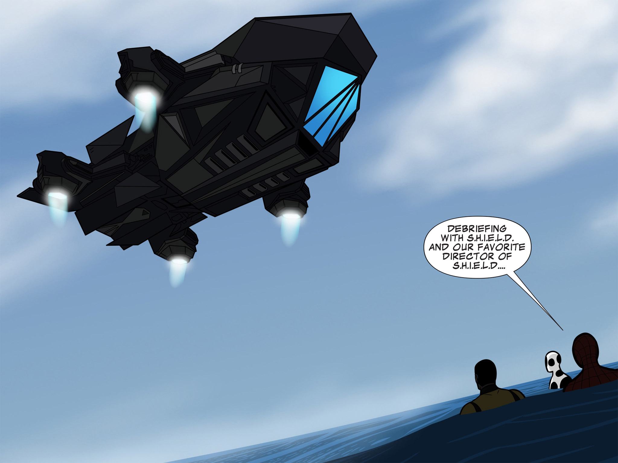 Read online Ultimate Spider-Man (Infinite Comics) (2015) comic -  Issue #11 - 32