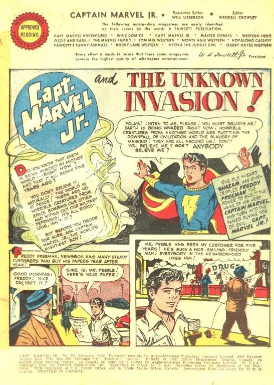 Captain Marvel, Jr. 78 Page 2