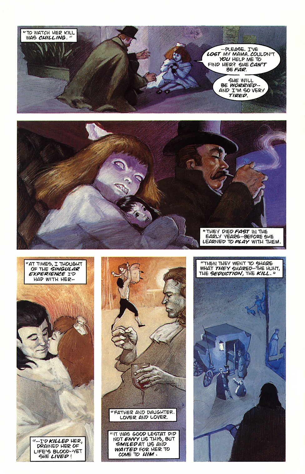 Read online Anne Rice's Interview with the Vampire comic -  Issue #4 - 10