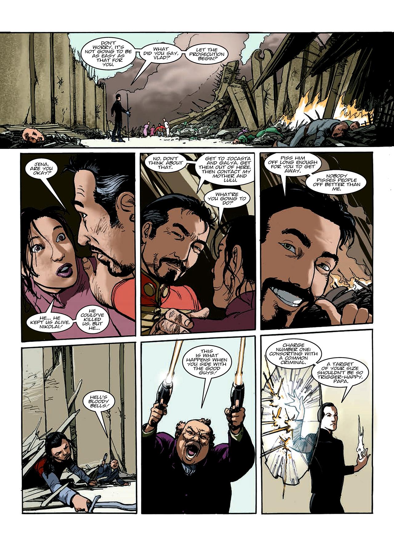 Read online Nikolai Dante comic -  Issue # TPB 10 - 95