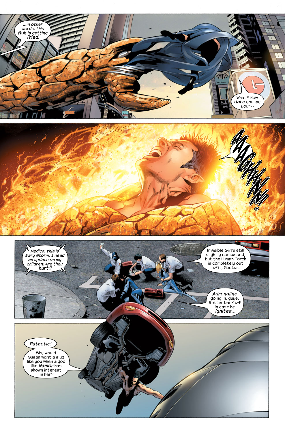 Read online Ultimate Fantastic Four (2004) comic -  Issue #26 - 6