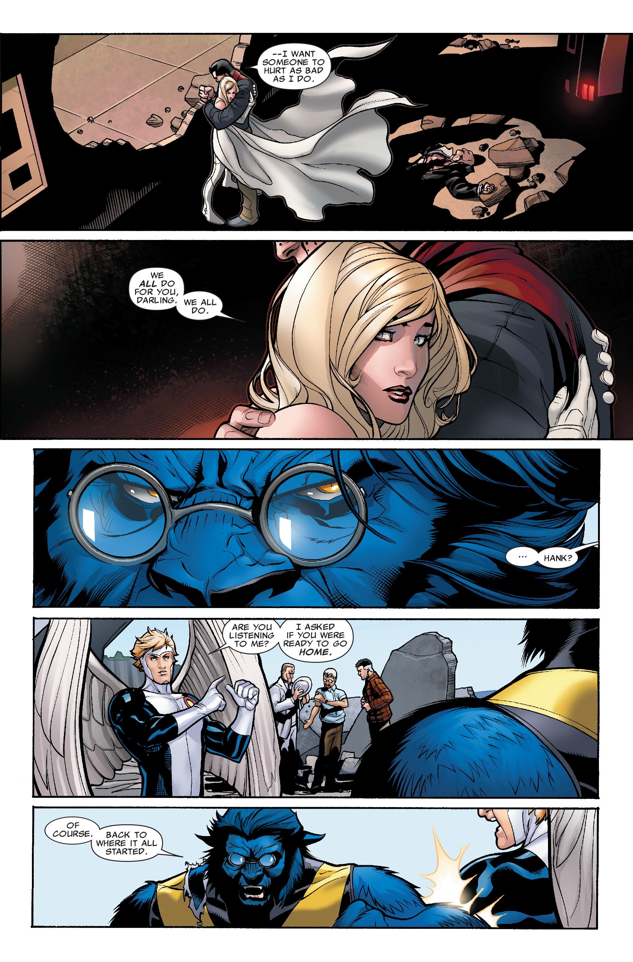 Read online Uncanny X-Men (1963) comic -  Issue #507 - 17
