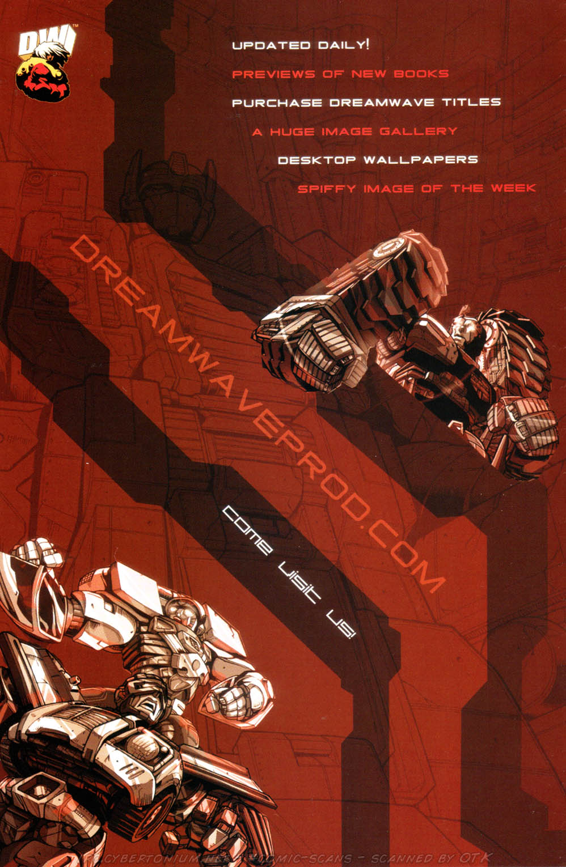 Read online Transformers Armada comic -  Issue #1 - 3