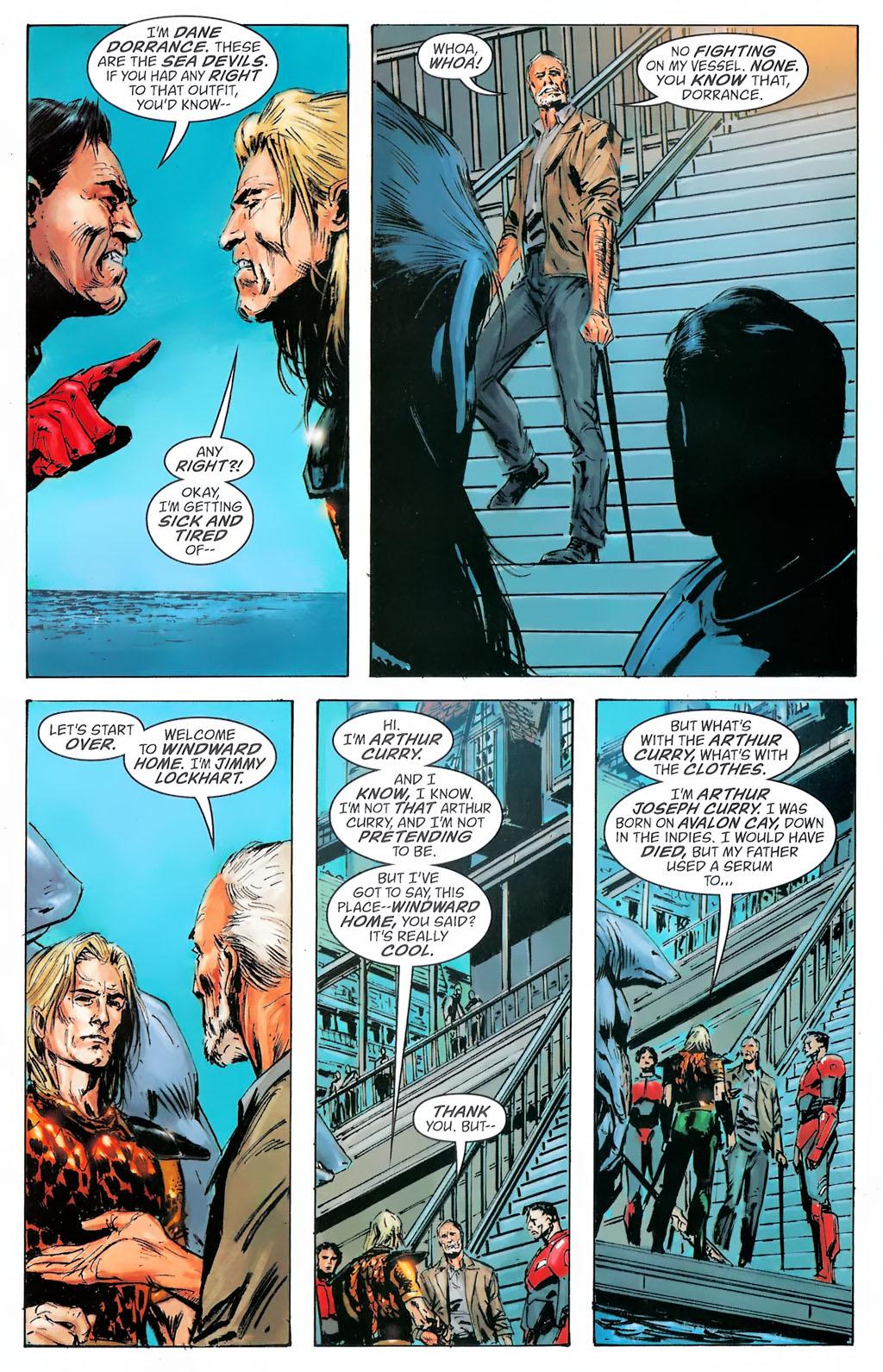 Read online Aquaman: Sword of Atlantis comic -  Issue #42 - 19