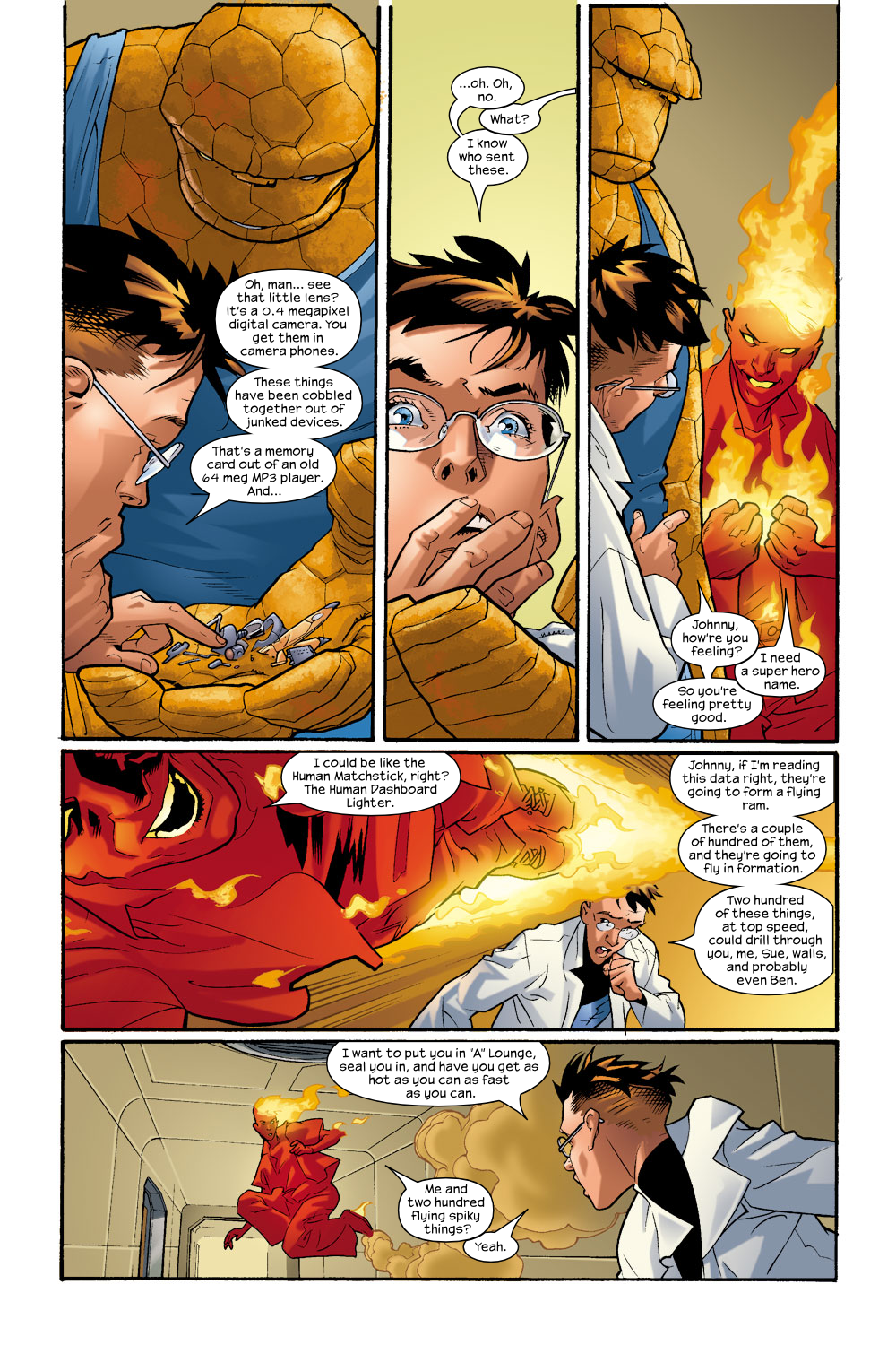 Read online Ultimate Fantastic Four (2004) comic -  Issue #9 - 12