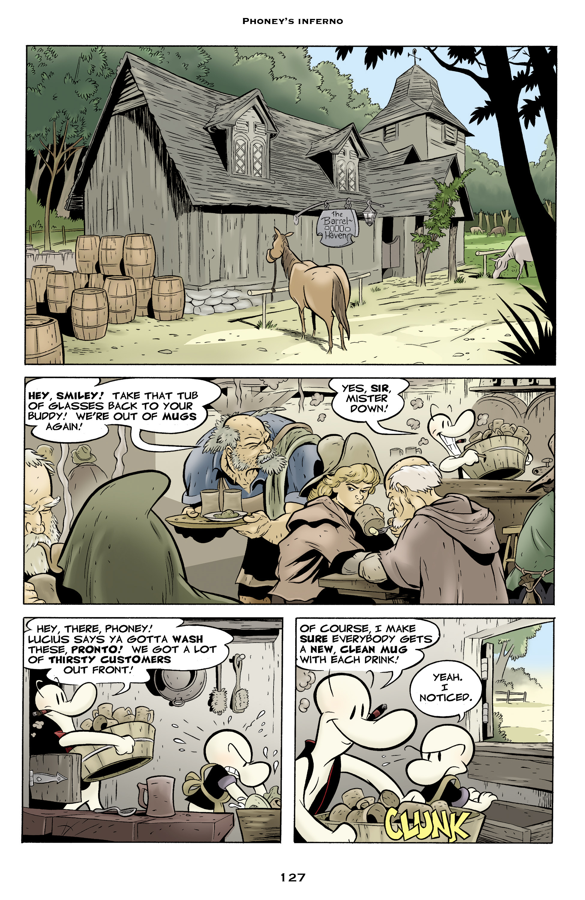 Read online Bone: Out From Boneville comic -  Issue # TPB - 127