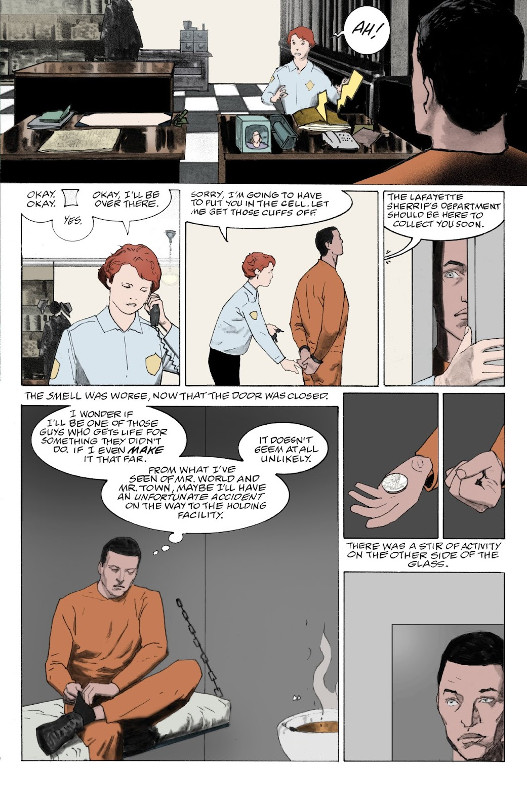 American Gods: My Ainsel issue 9 - Page 13