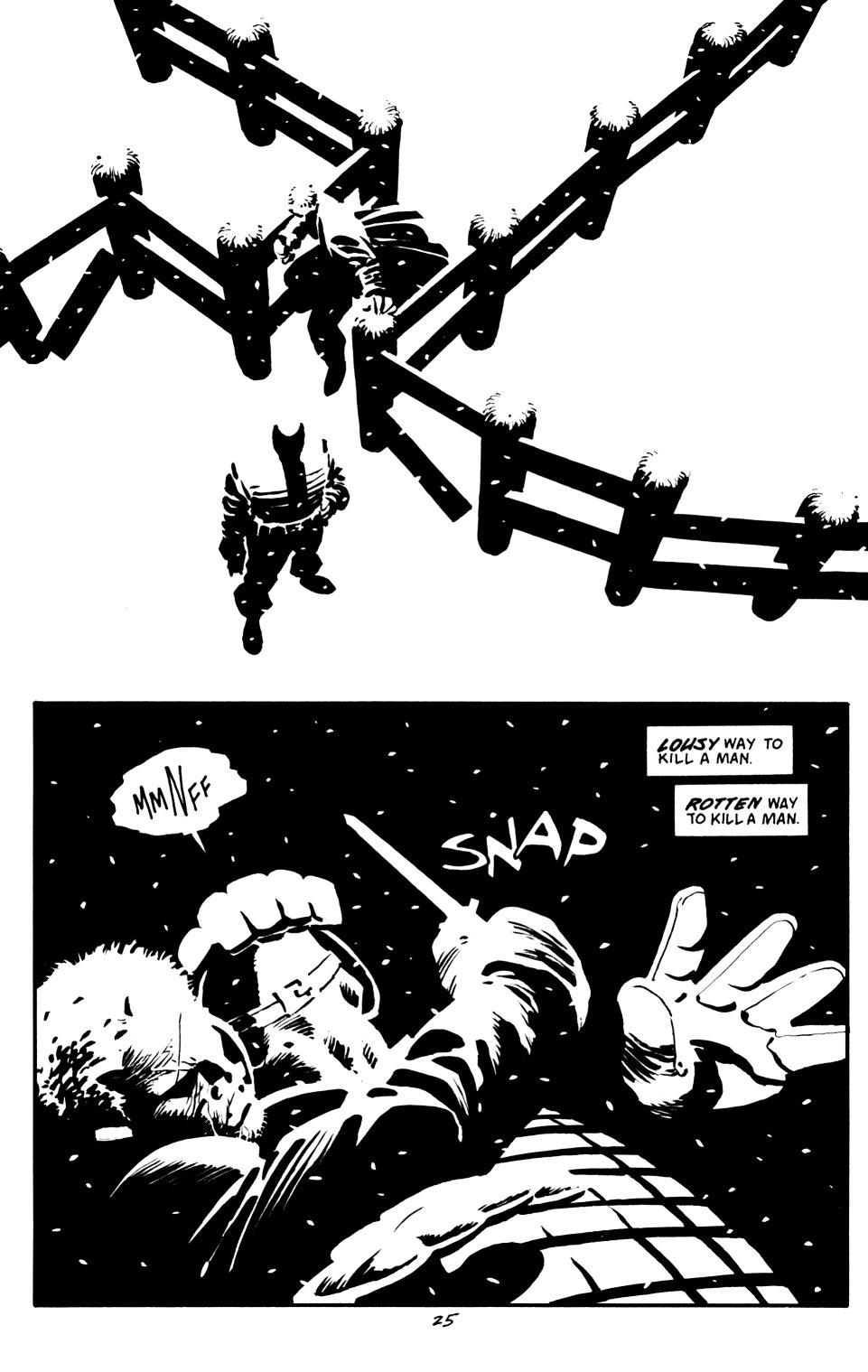 Read online Sin City: That Yellow Bastard comic -  Issue #6 - 25