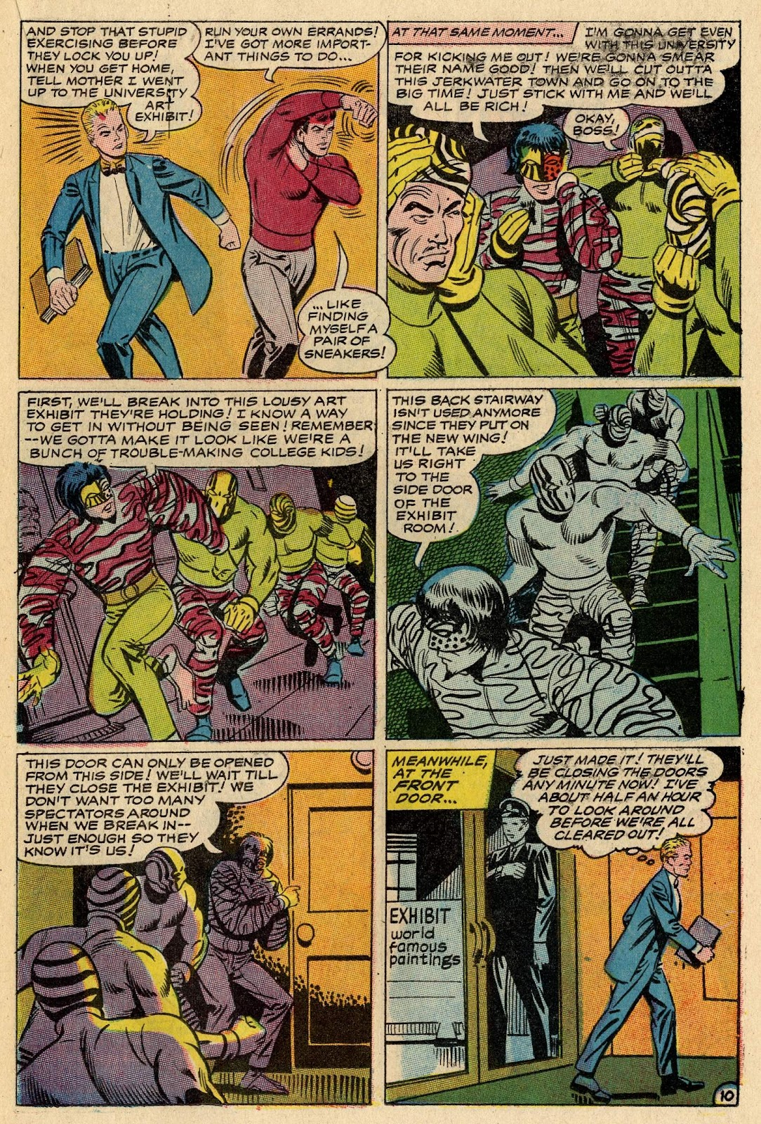 The Hawk and the Dove issue 1 - Page 15
