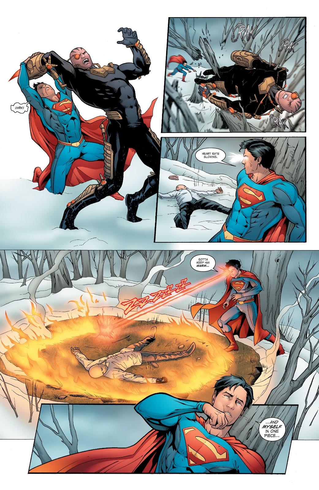 Read online Smallville Season 11 [II] comic -  Issue # TPB 6 - 151