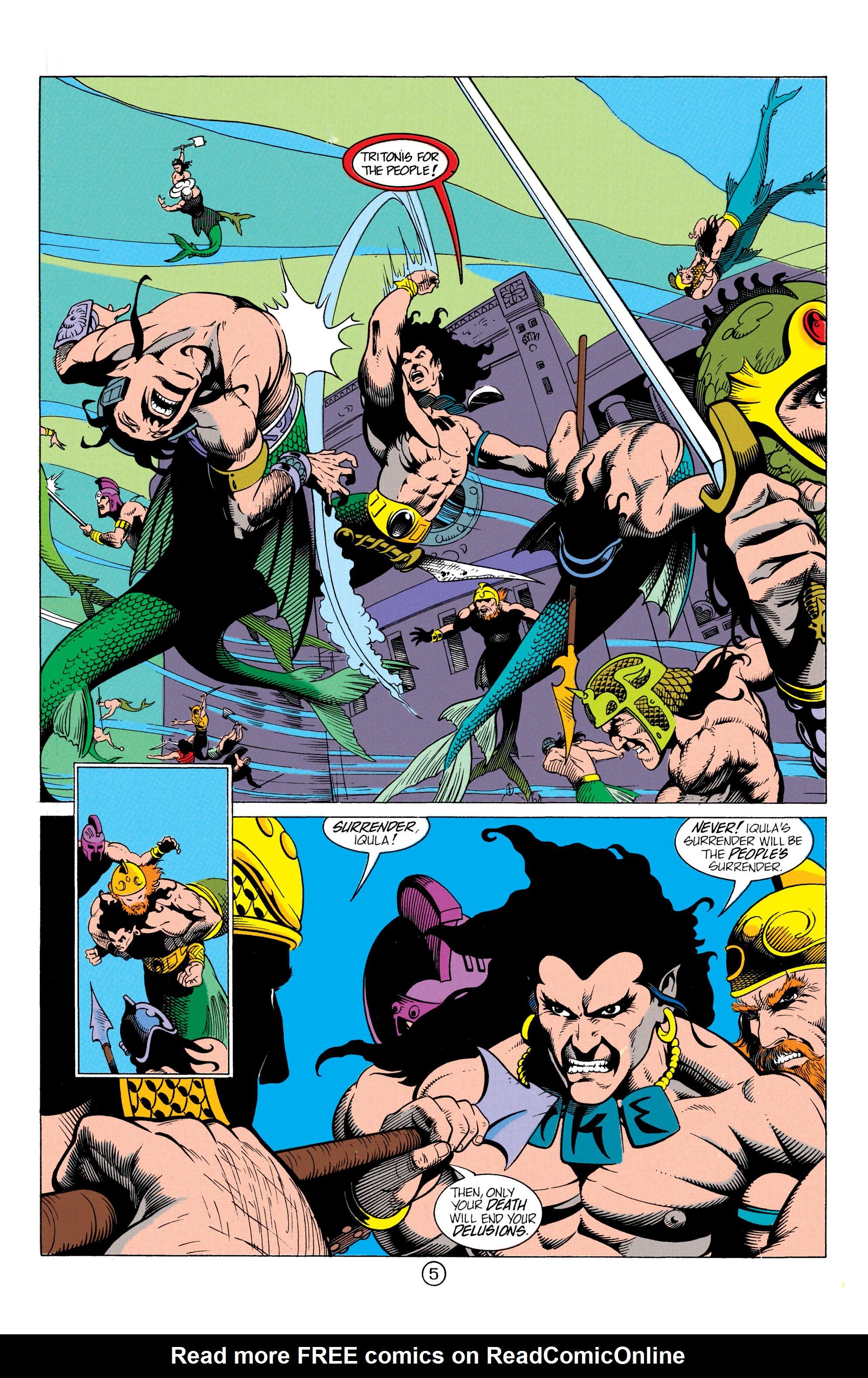 Read online Aquaman (1991) comic -  Issue #12 - 6