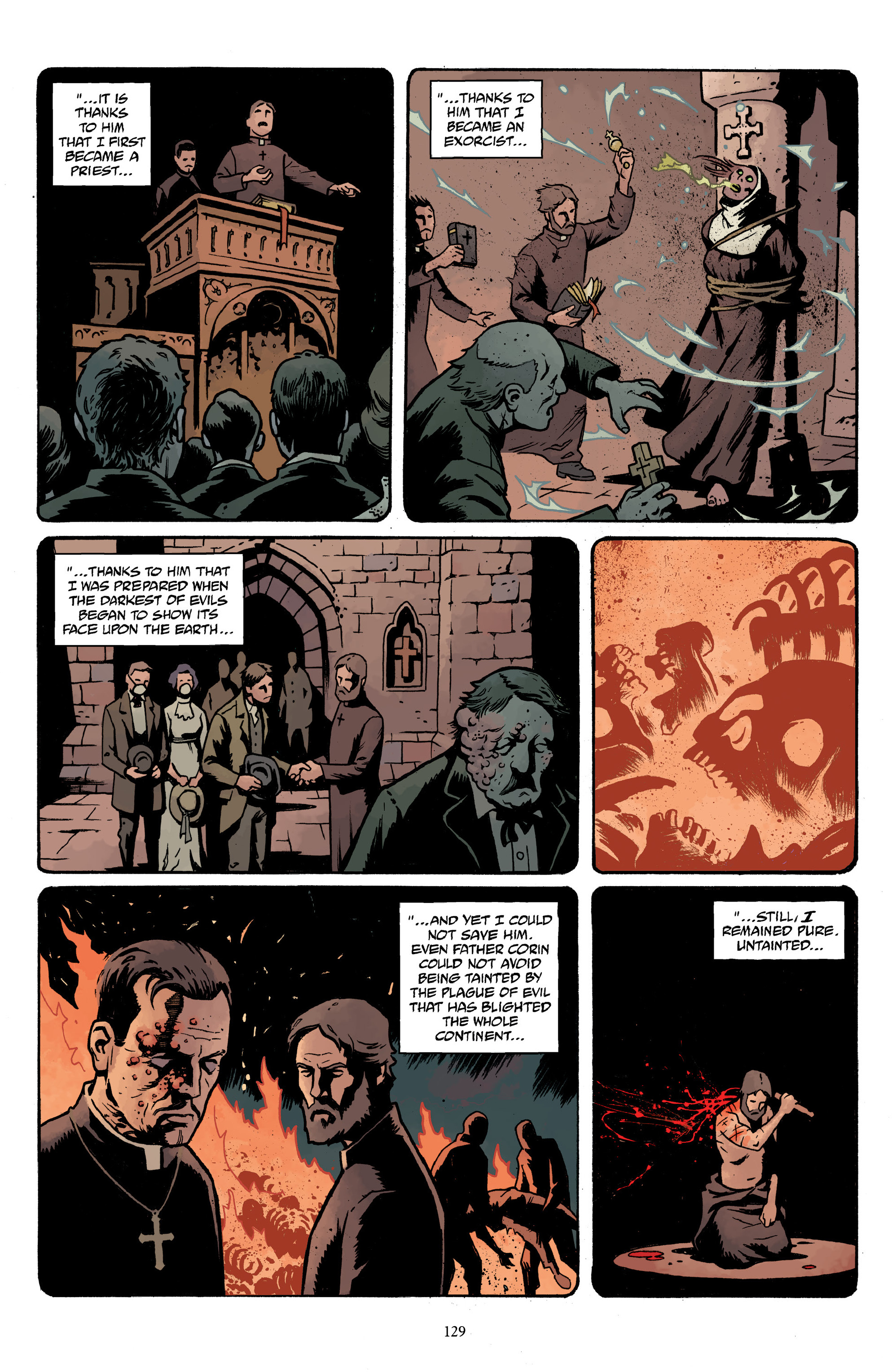 Read online Baltimore Volume 3: A Passing Stranger and Other Stories comic -  Issue # Full - 131