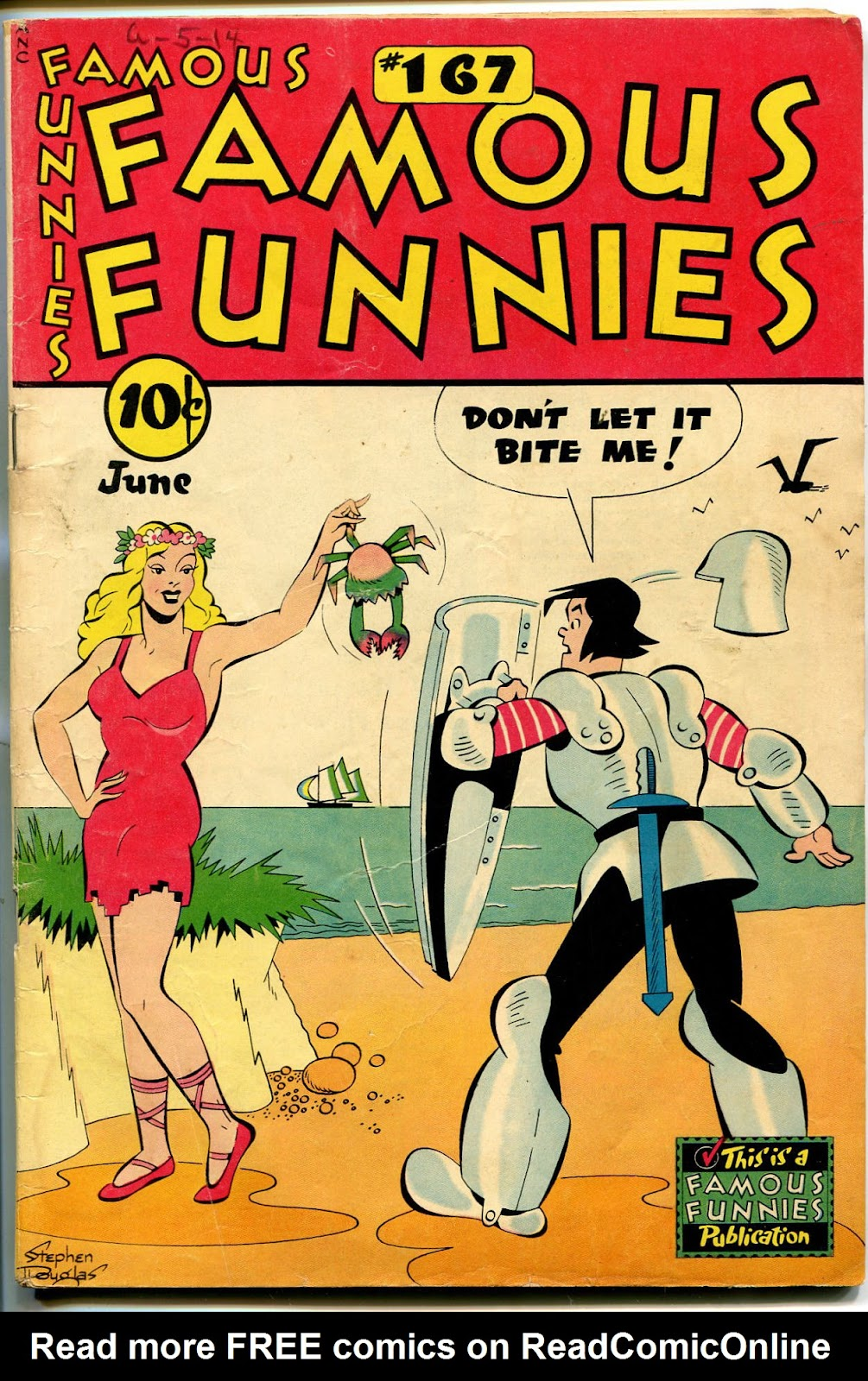 Read online Famous Funnies comic -  Issue #167 - 1