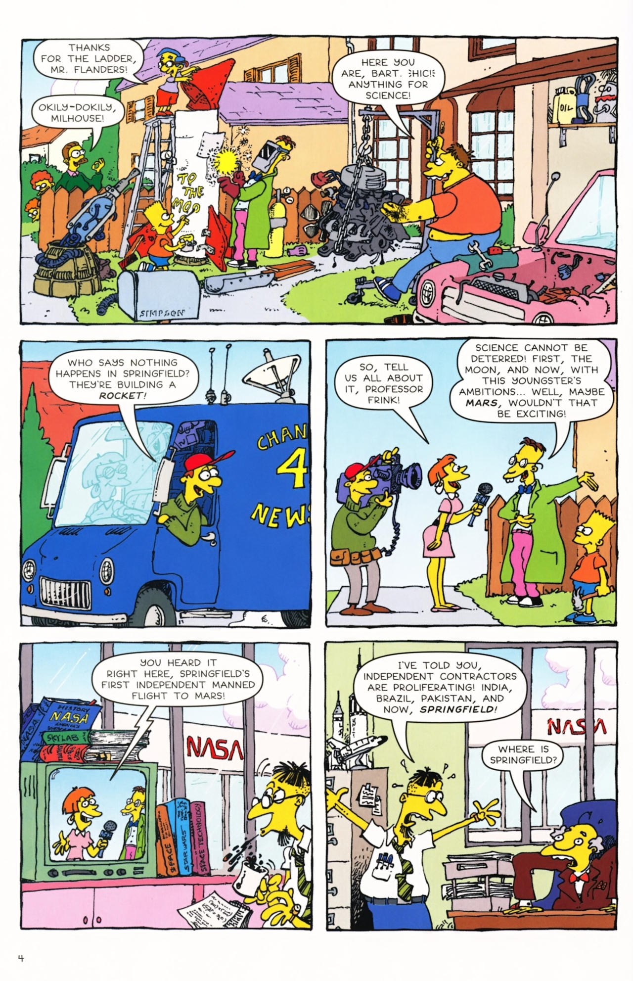 Read online Simpsons Comics Presents Bart Simpson comic -  Issue #50 - 5
