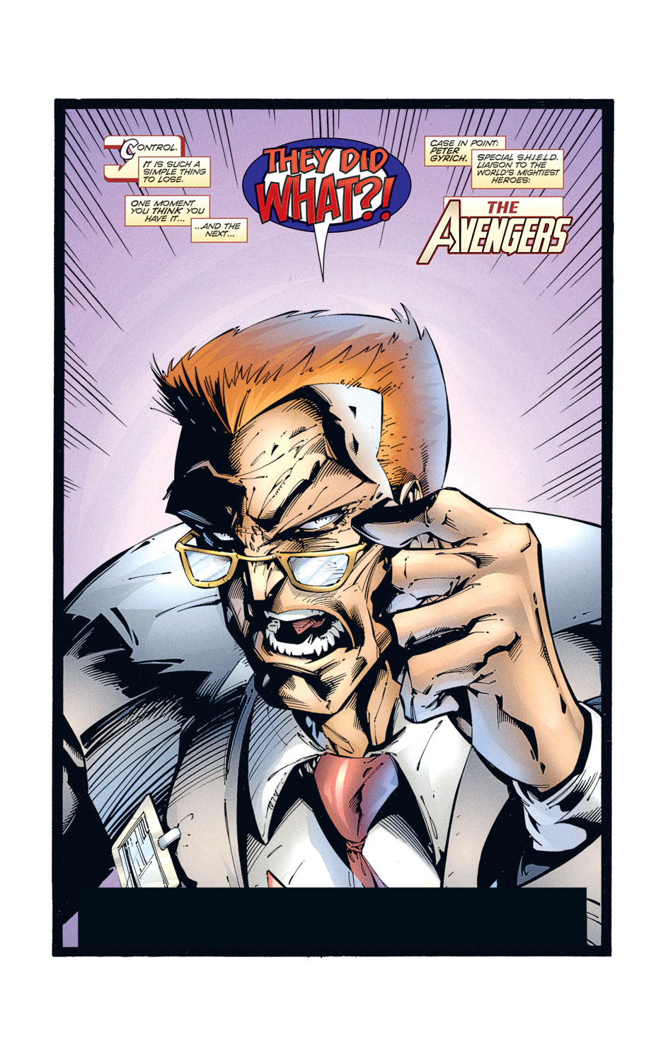 Read online Avengers (1996) comic -  Issue #2 - 2