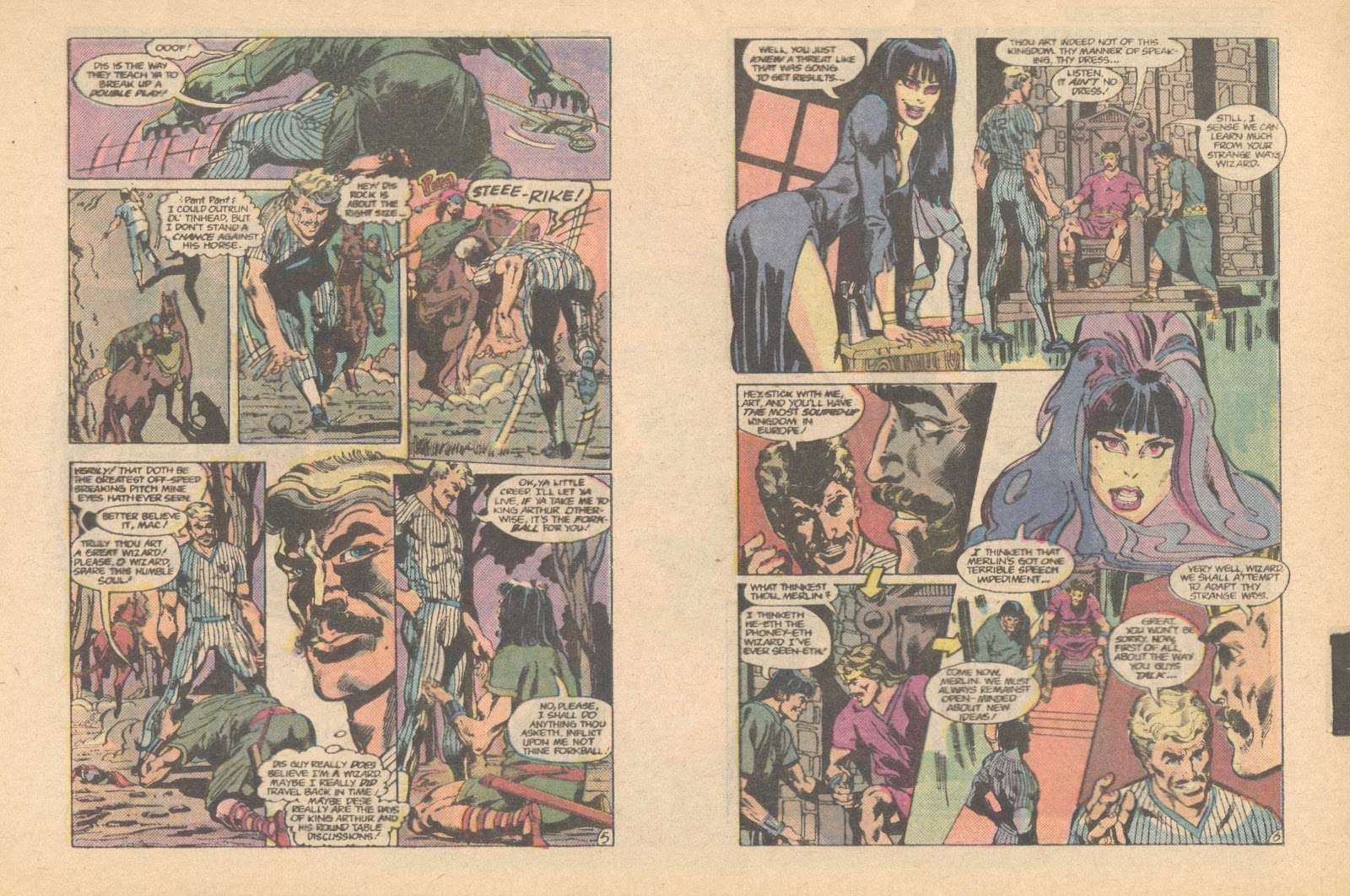 Elvira's House of Mystery Issue #6 #7 - English 5