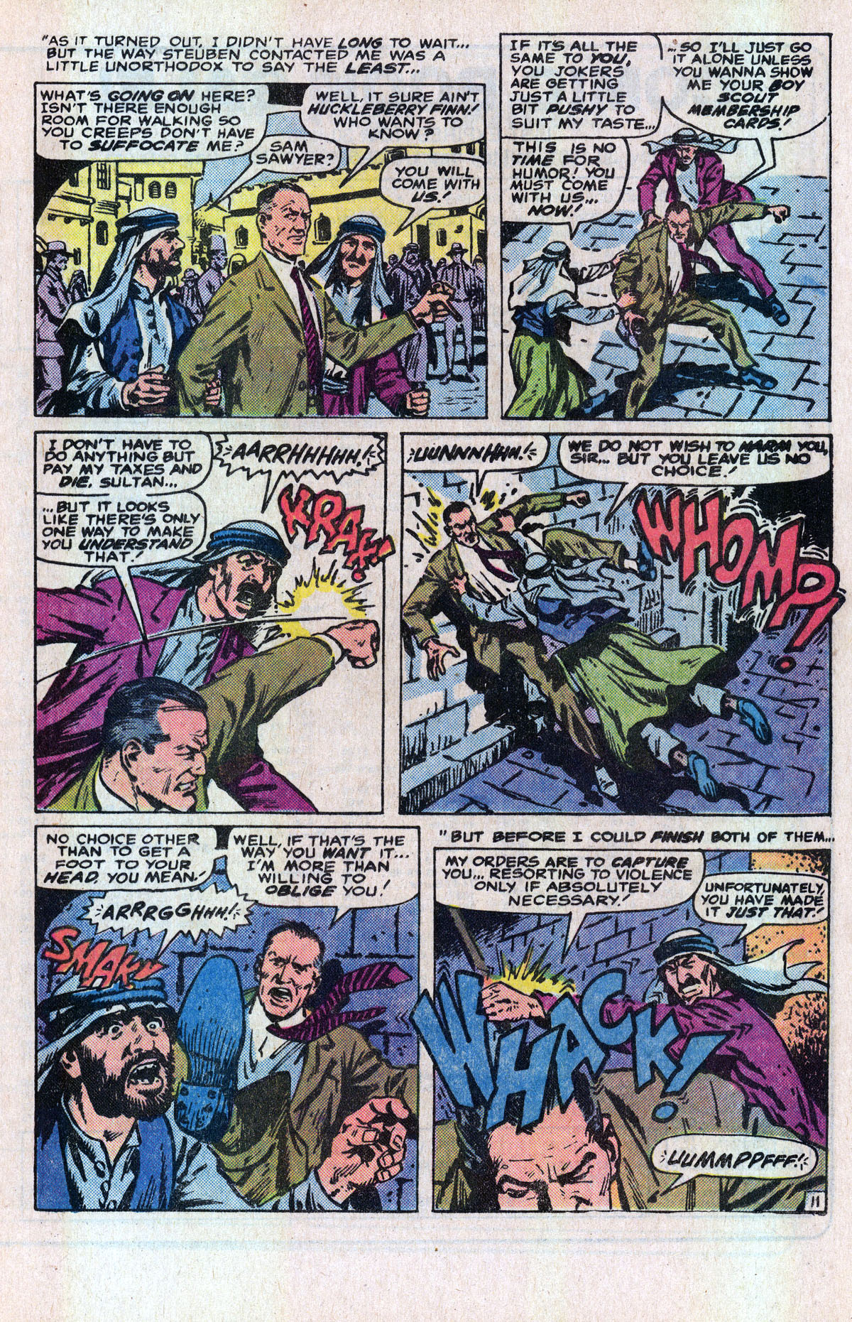 Read online Sgt. Fury comic -  Issue #166 - 17