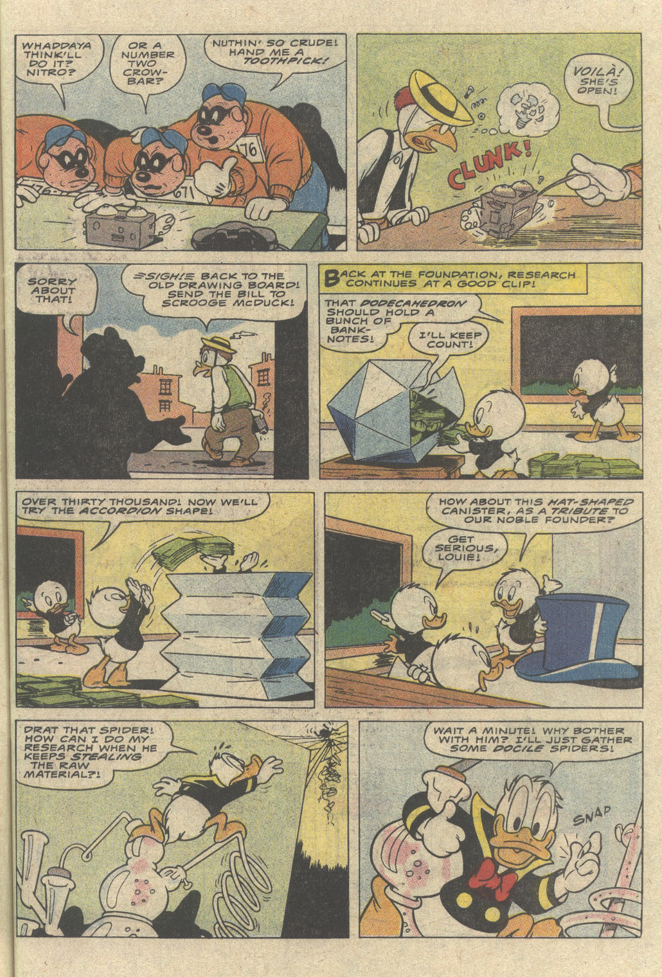Read online Uncle Scrooge (1953) comic -  Issue #241 - 19