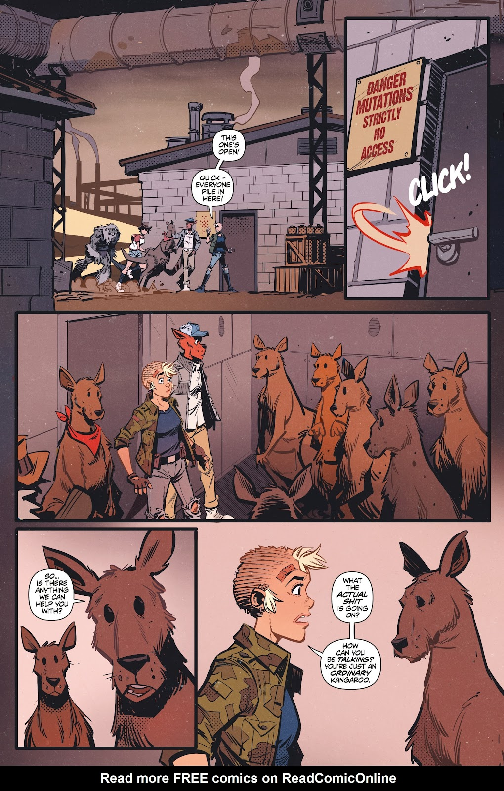 Read online Tank Girl Ongoing comic -  Issue #3 - 21