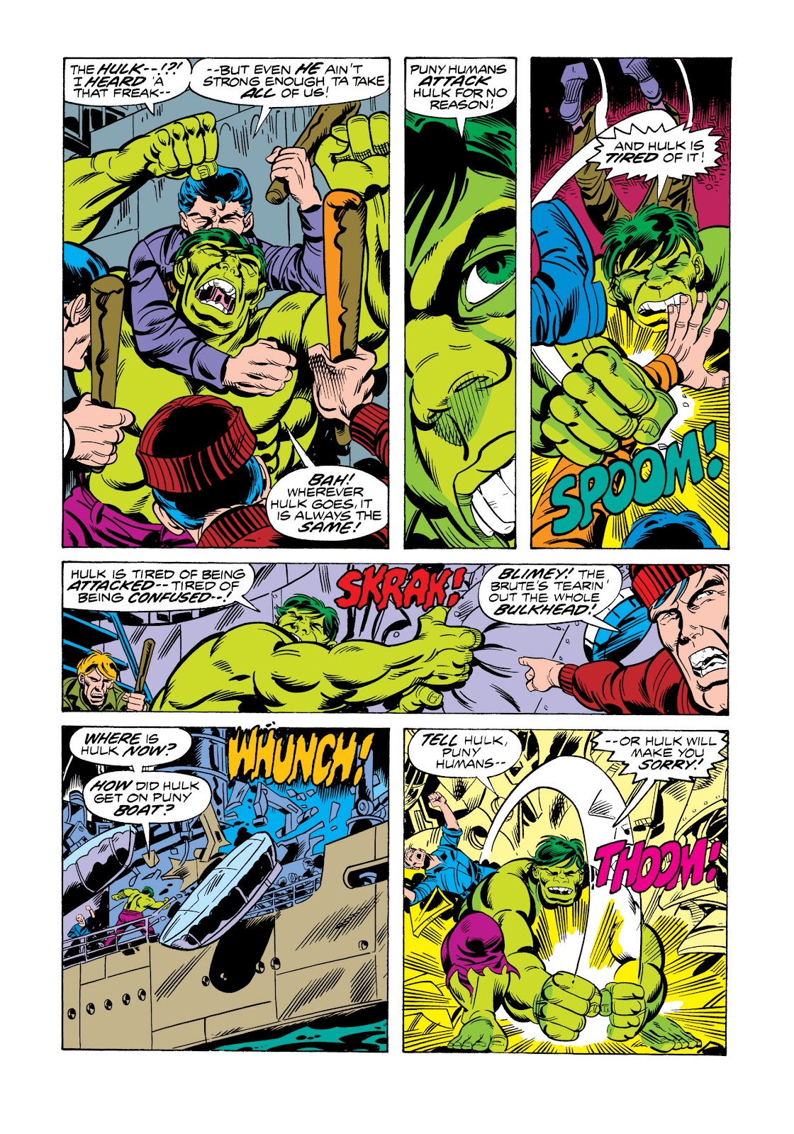 Read online Marvel Masterworks: The Incredible Hulk comic -  Issue # TPB 11 (Part 2) - 81