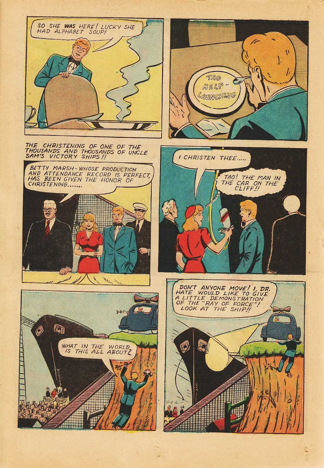 Super-Magician Comics issue 22 - Page 34