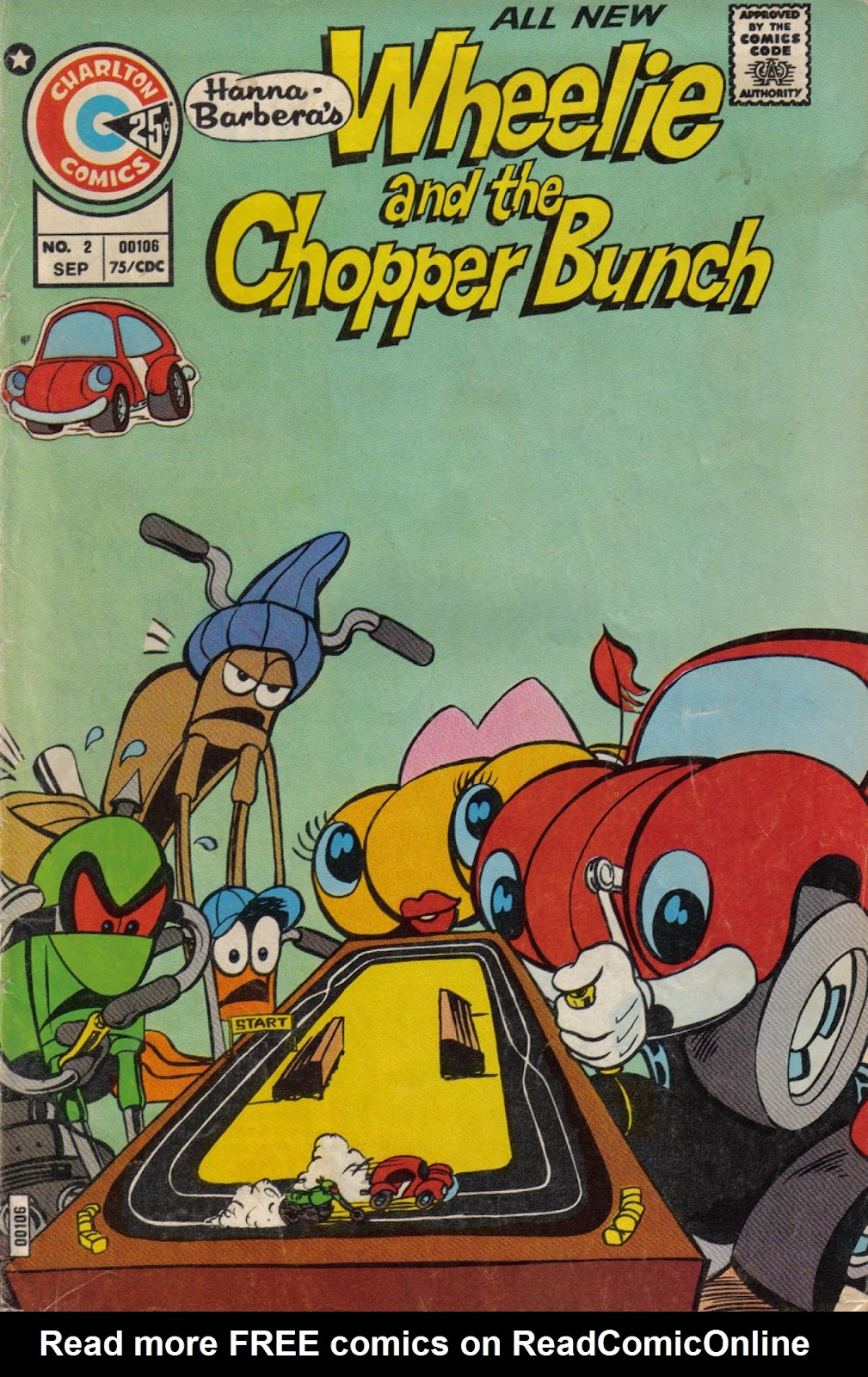 Wheelie and the Chopper Bunch issue 2 - Page 1