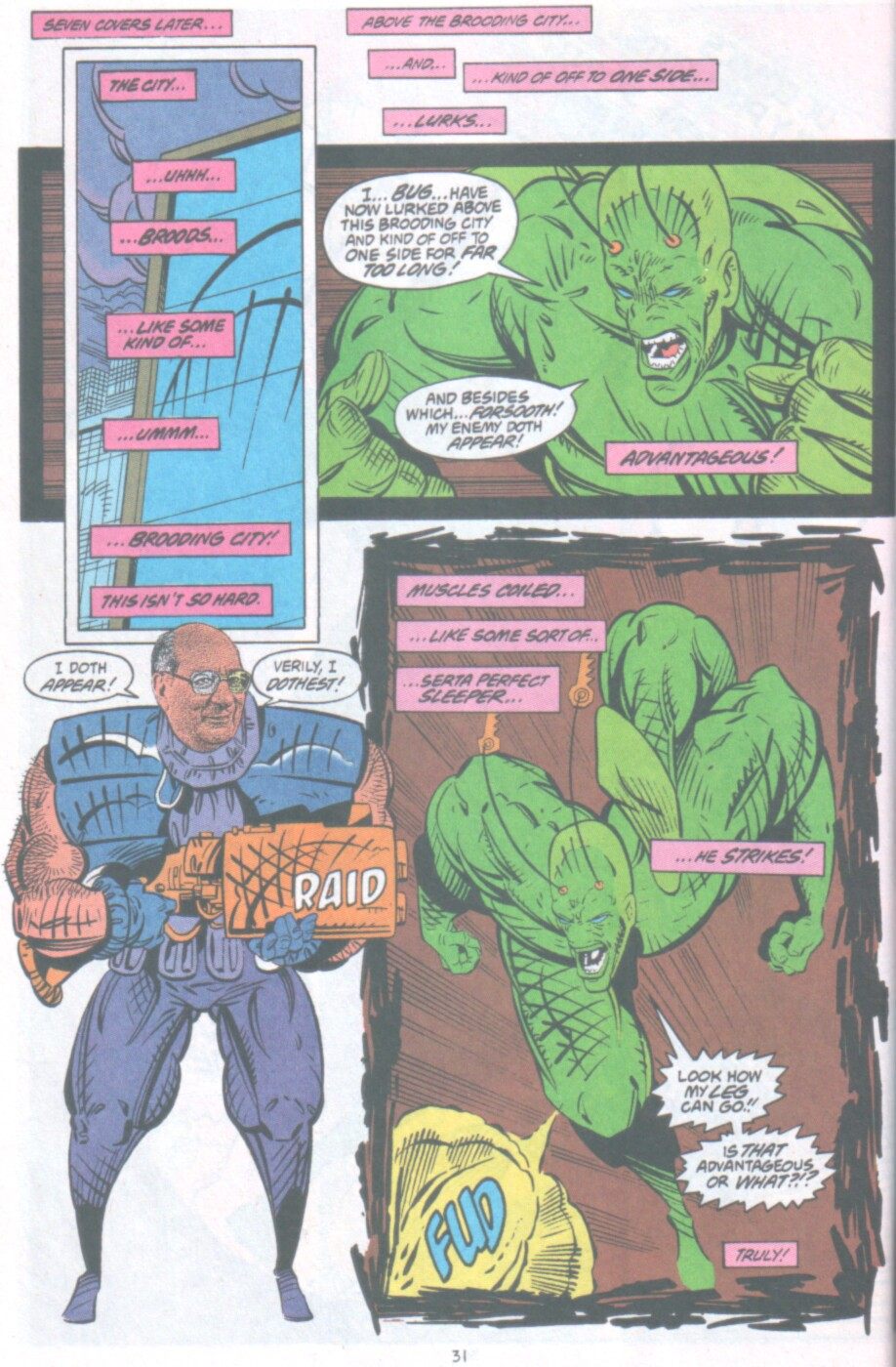 Read online Ambush Bug Nothing Special comic -  Issue # Full - 24