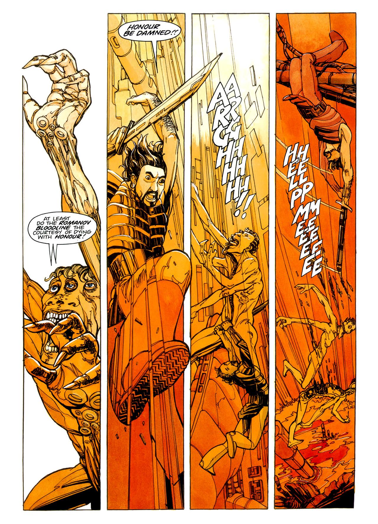 Read online Nikolai Dante comic -  Issue # TPB 1 - 43