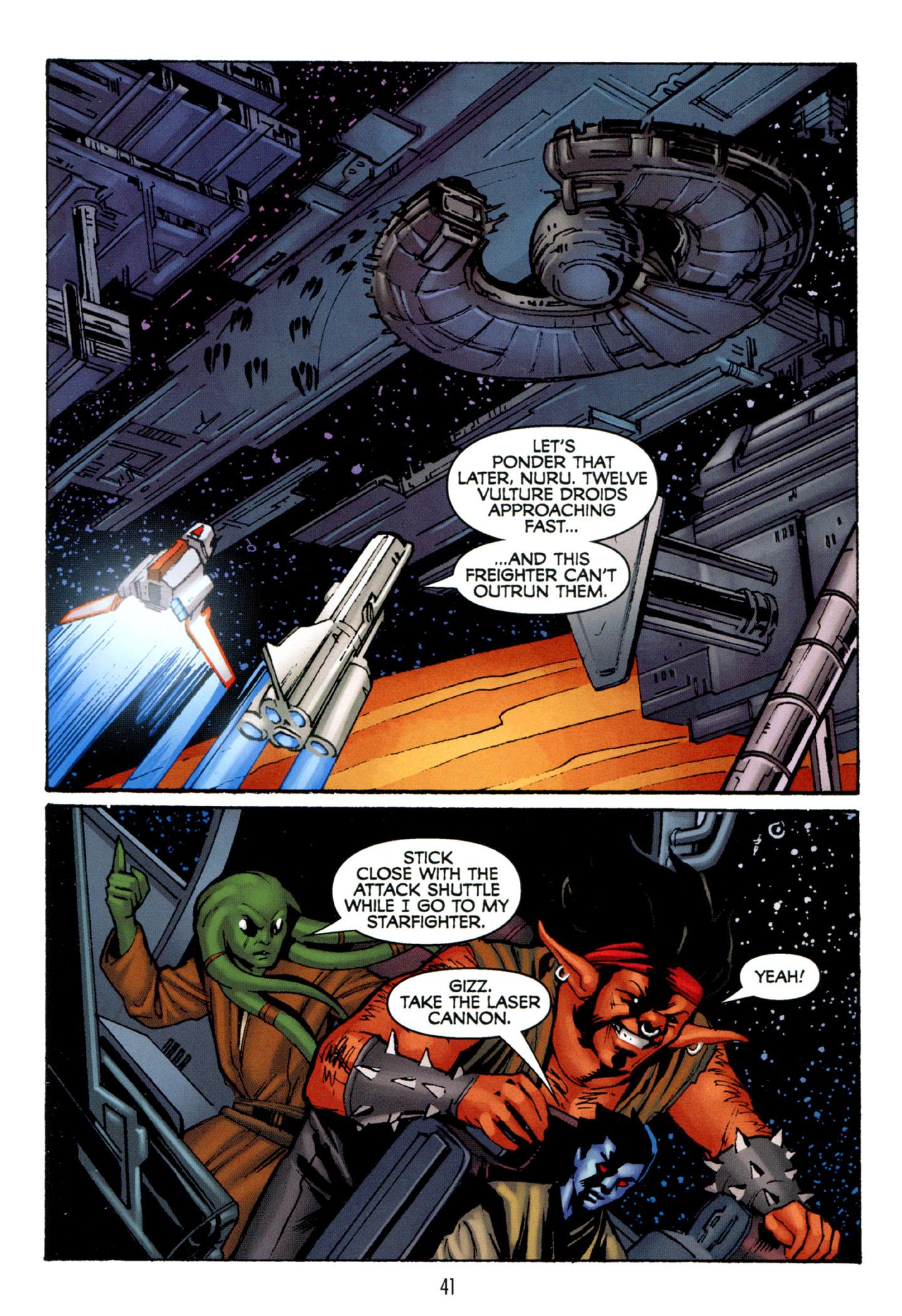Read online Star Wars: The Clone Wars - Strange Allies comic -  Issue # Full - 42