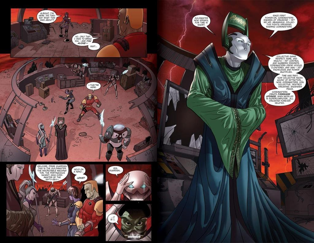 Read online ReBoot: Paradigms Lost comic -  Issue # Full - 8