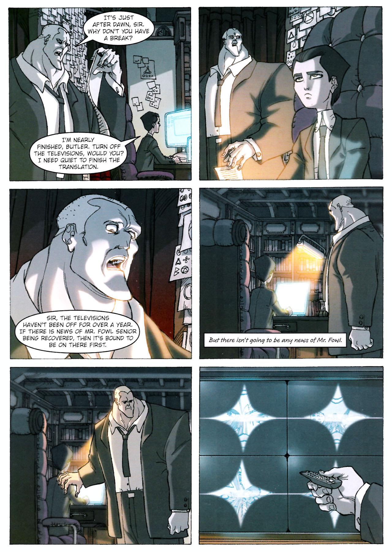 Read online Artemis Fowl: The Graphic Novel comic -  Issue #Artemis Fowl: The Graphic Novel Full - 17