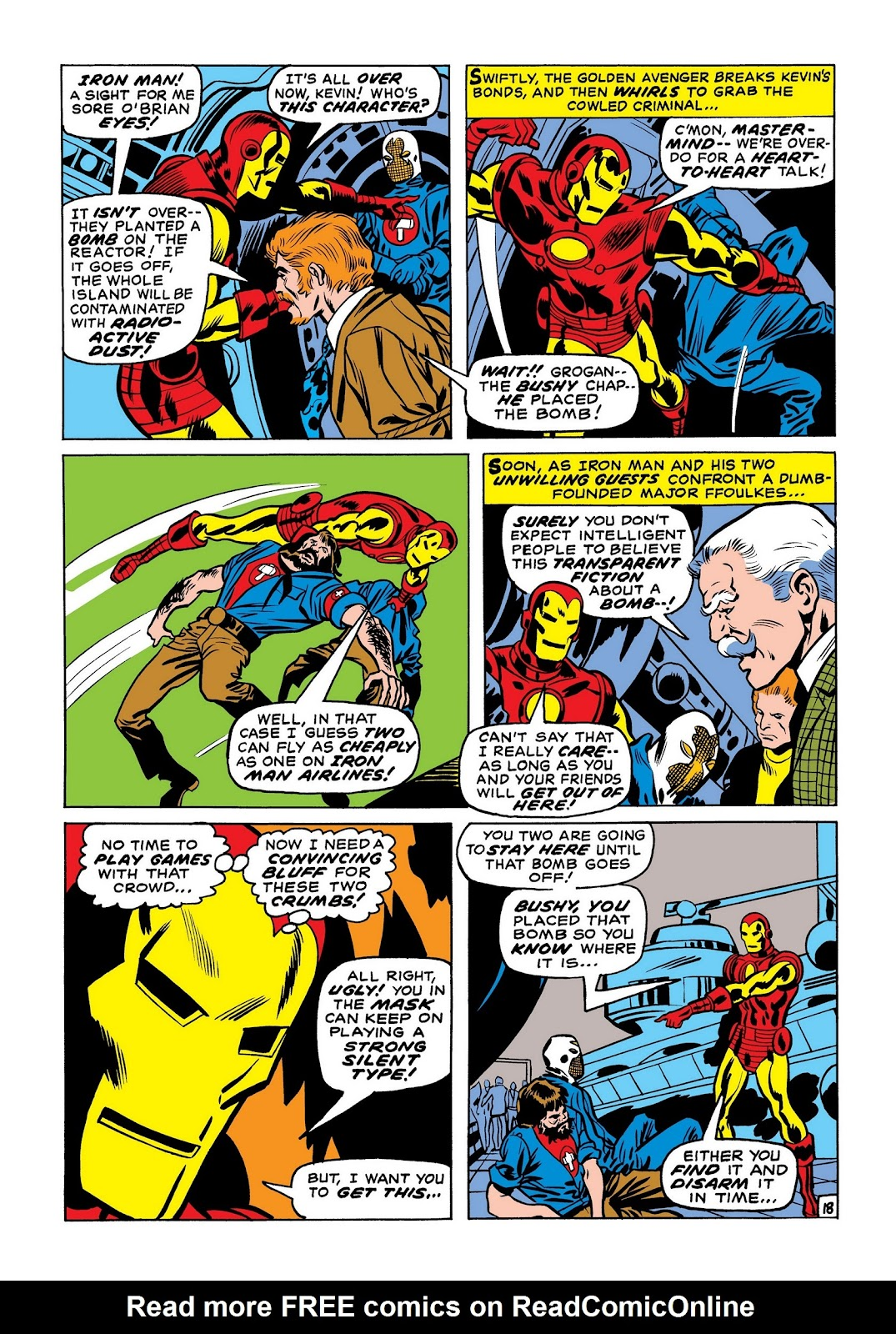 Read online Marvel Masterworks: The Invincible Iron Man comic -  Issue # TPB 7 (Part 2) - 26