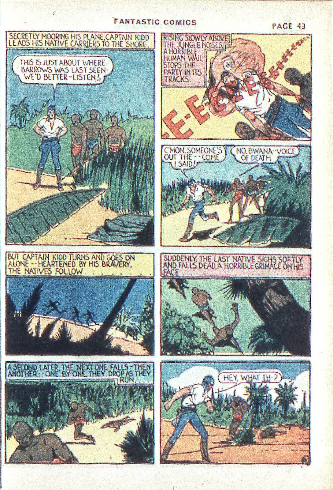 Read online Fantastic Comics comic -  Issue #3 - 45