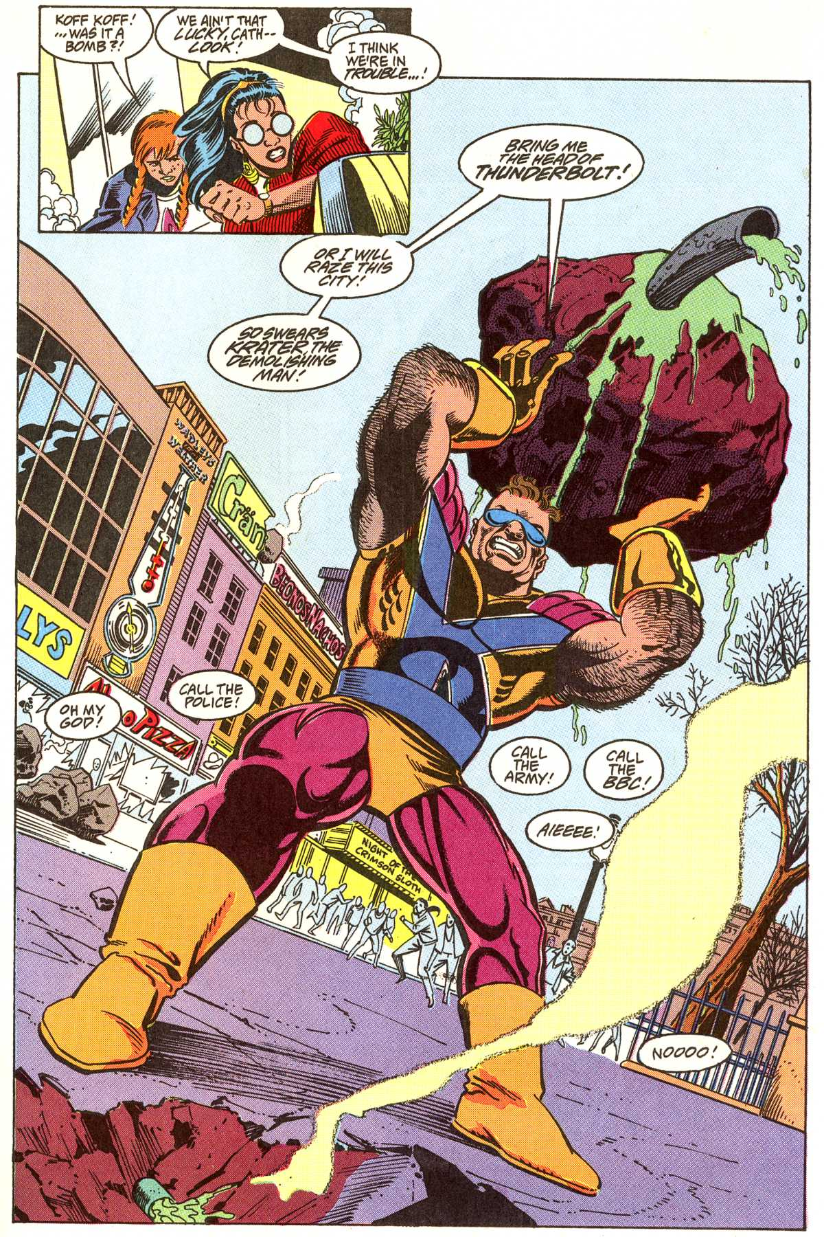 Read online Peter Cannon--Thunderbolt (1992) comic -  Issue #5 - 10